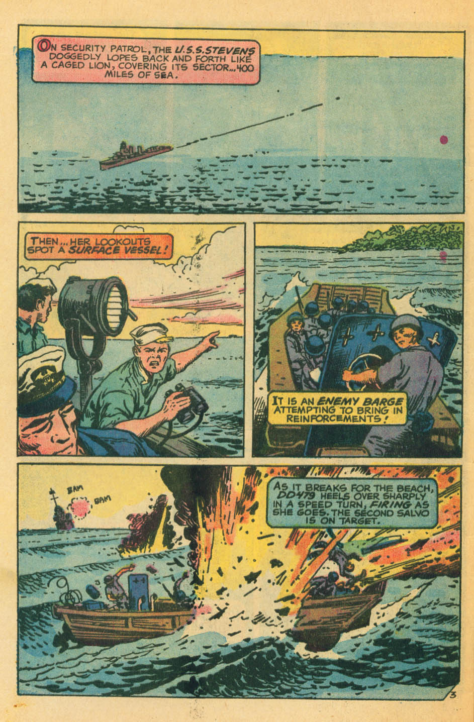 Read online Star Spangled War Stories (1952) comic -  Issue #172 - 21