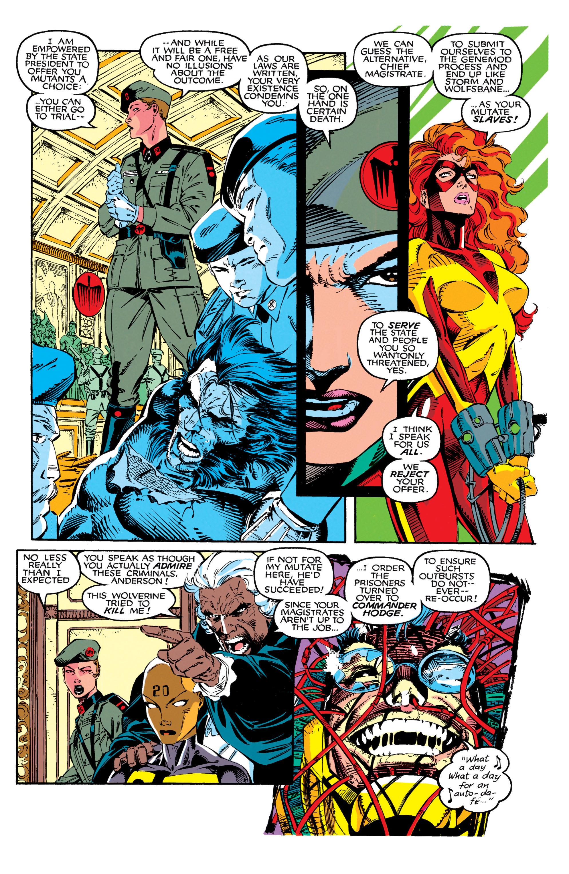 Read online Uncanny X-Men (1963) comic -  Issue #272 - 6