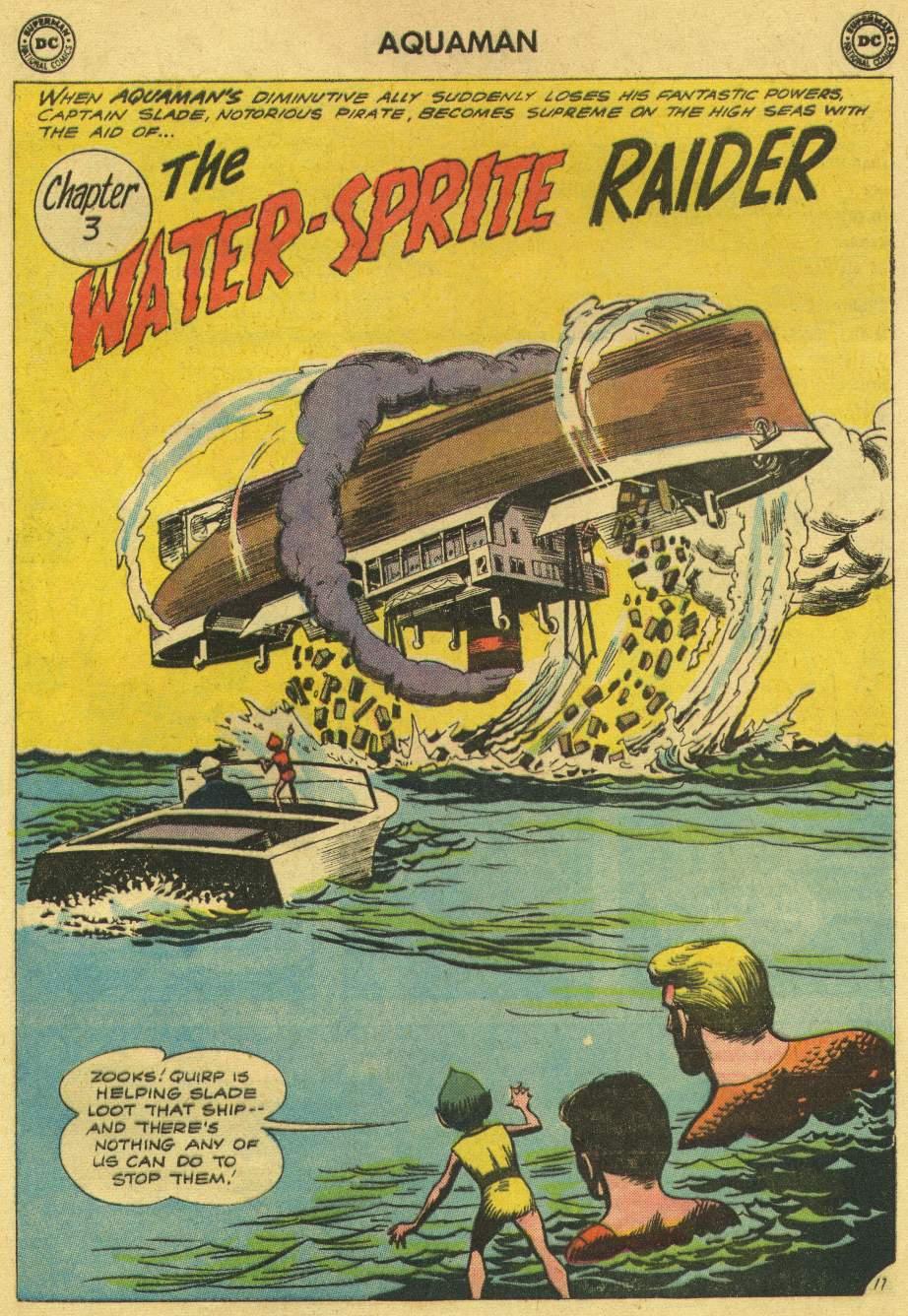 Read online Aquaman (1962) comic -  Issue #6 - 25