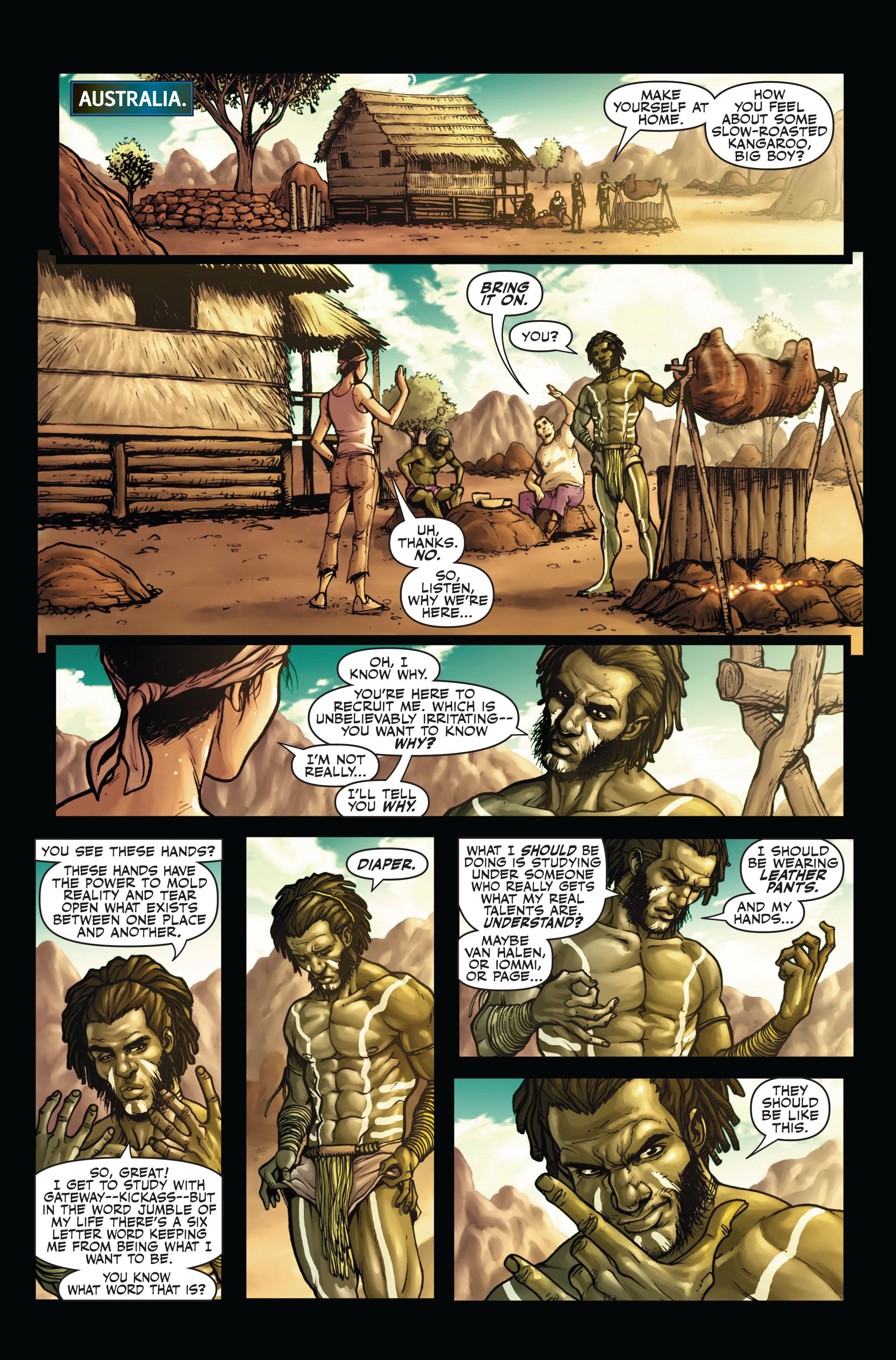 Read online Secret Warriors comic -  Issue #4 - 17