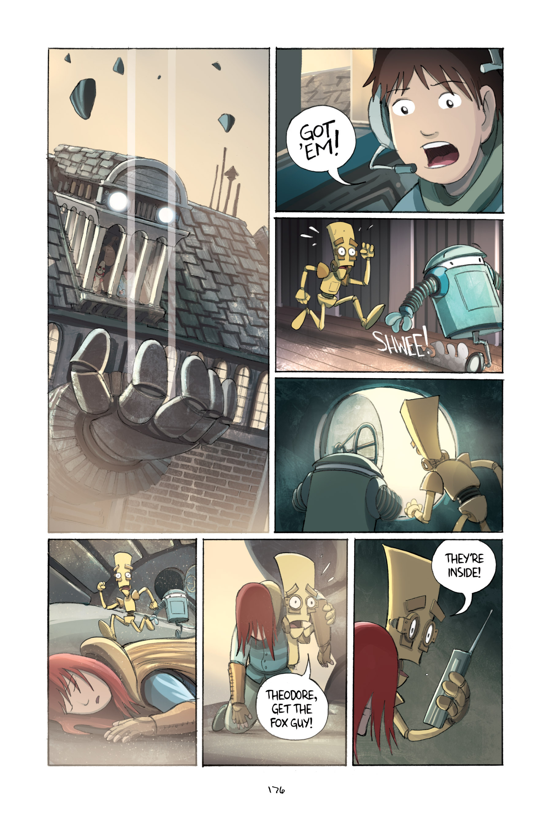 Read online Amulet comic -  Issue #2 - 175