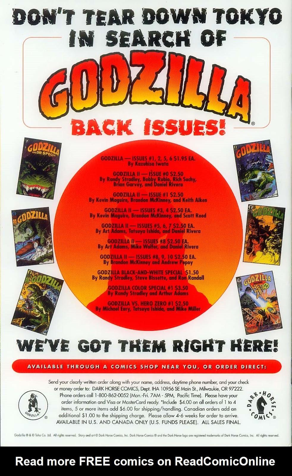 Godzilla (1995) Issue #12 #13 - English 36