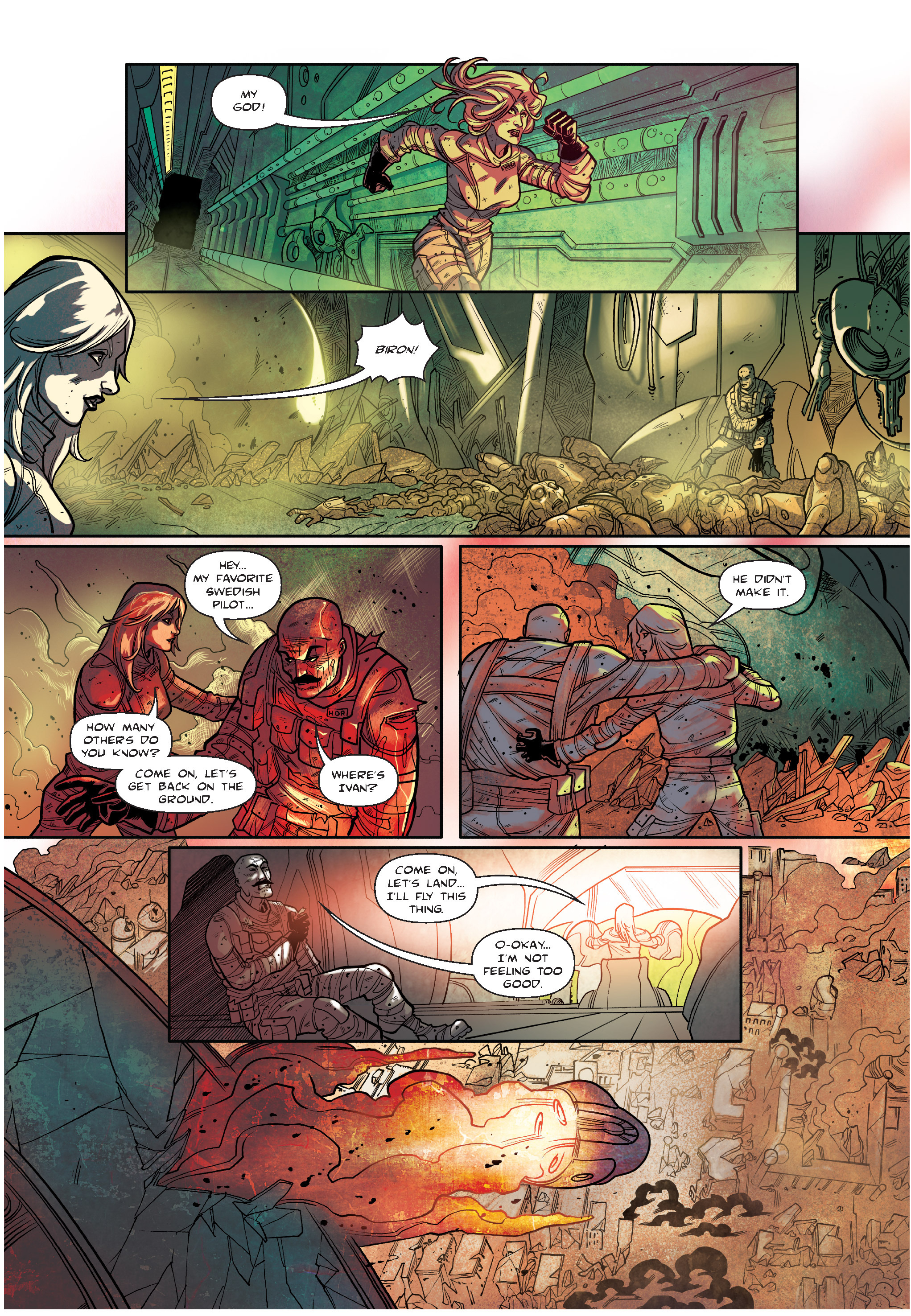 Read online The Shadow of a Terrible Thing comic -  Issue # TPB - 133