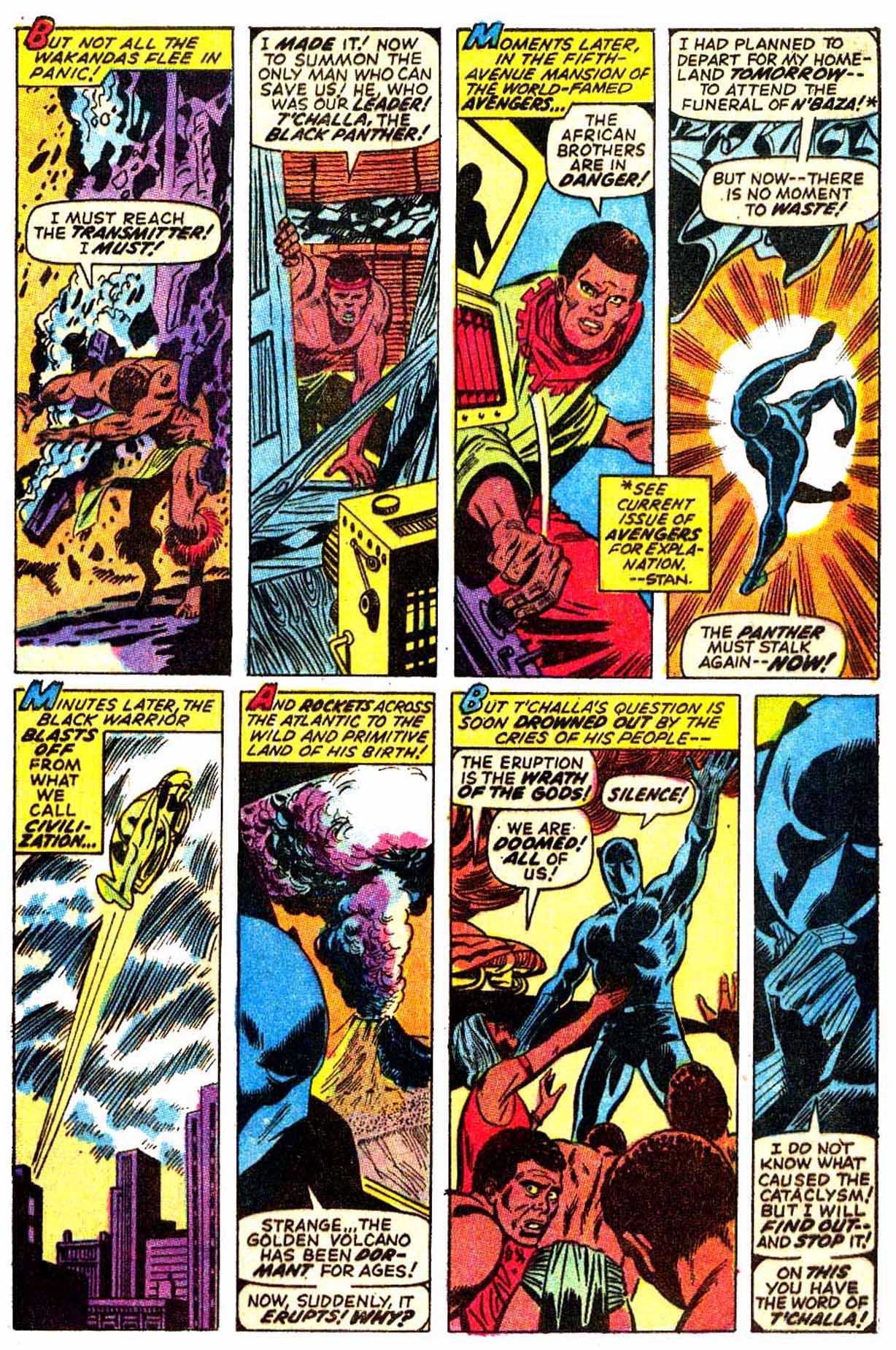 Read online Astonishing Tales (1970) comic -  Issue #6 - 10