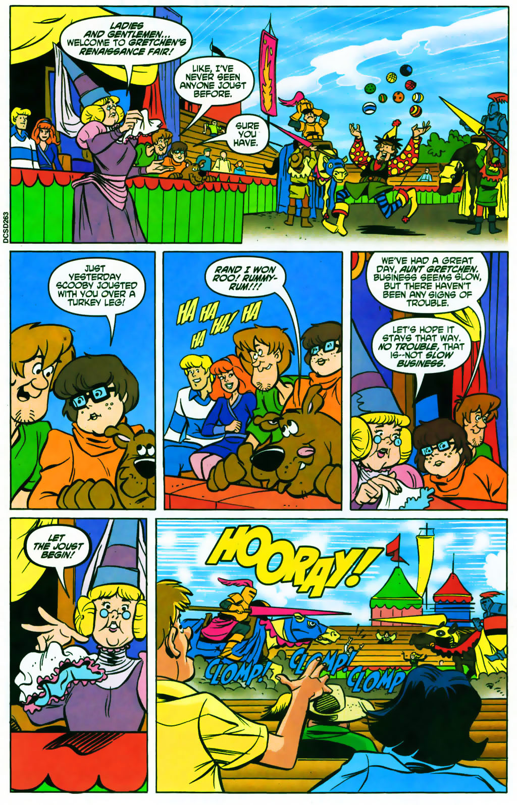 Read online Scooby-Doo (1997) comic -  Issue #87 - 14