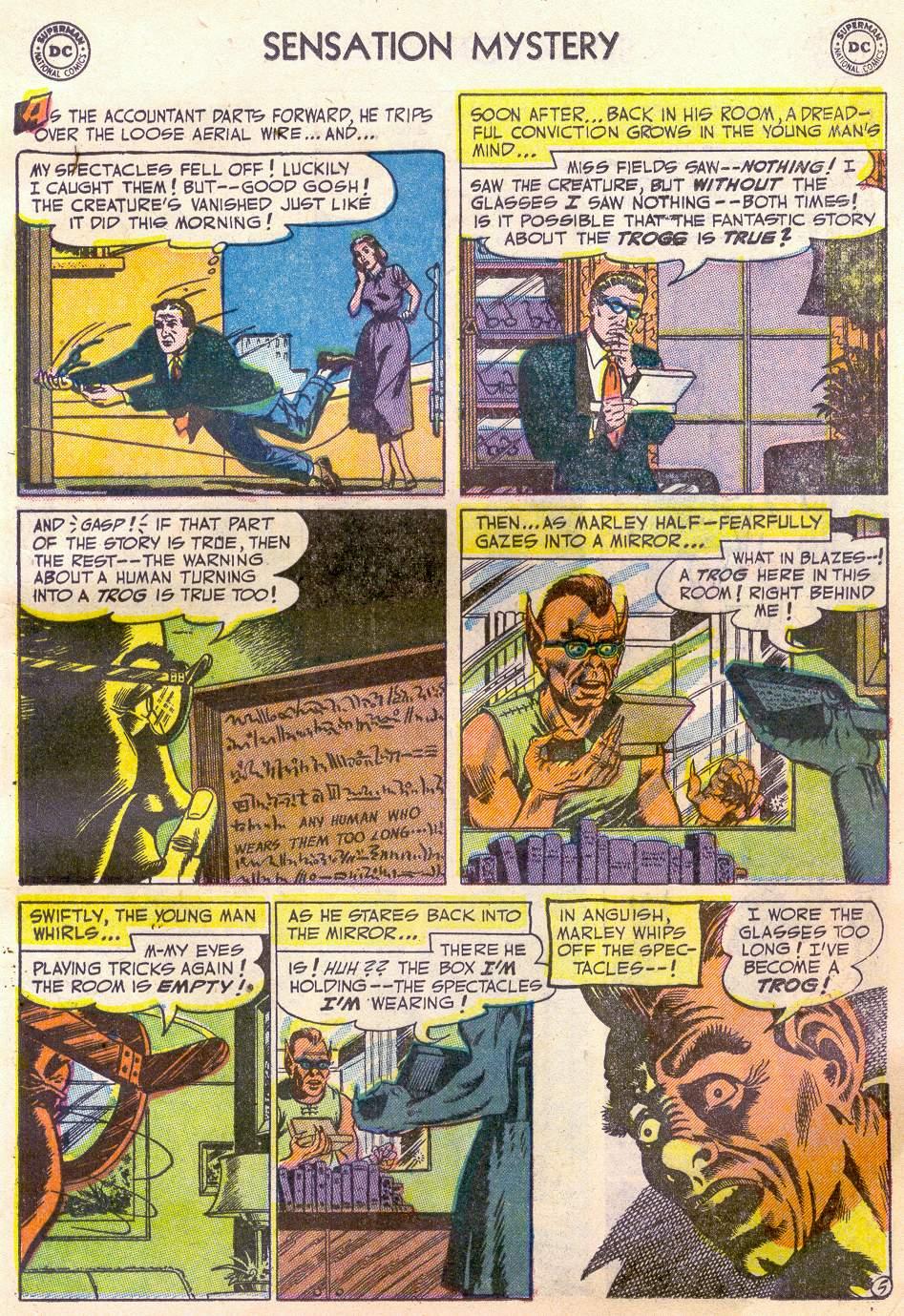 Read online Sensation (Mystery) Comics comic -  Issue #110 - 17