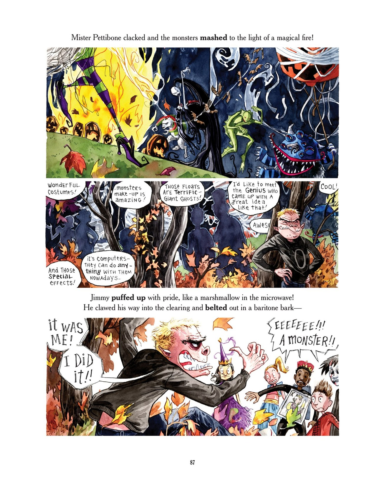 Read online Scary Godmother comic -  Issue # TPB - 87