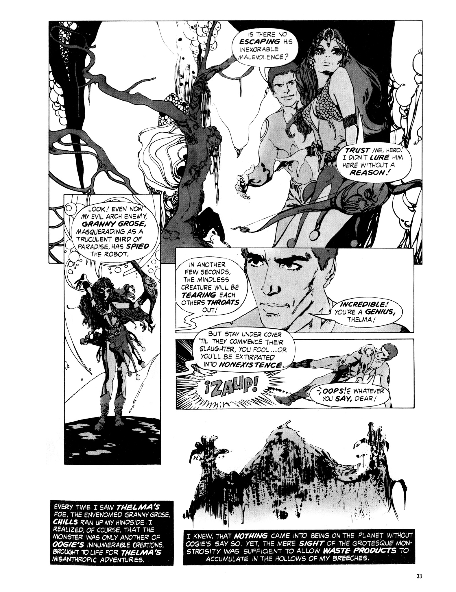 Read online Eerie Archives comic -  Issue # TPB 16 - 34