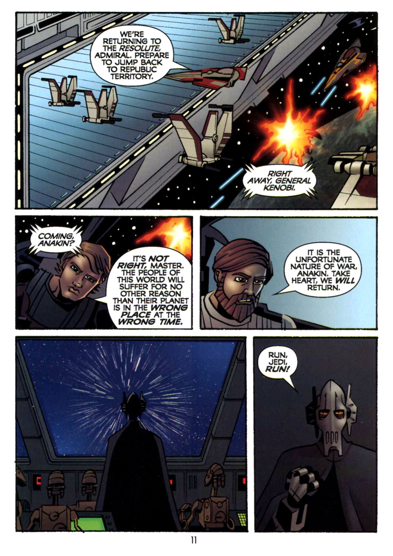 Read online Star Wars: The Clone Wars - Shipyards of Doom comic -  Issue # Full - 10