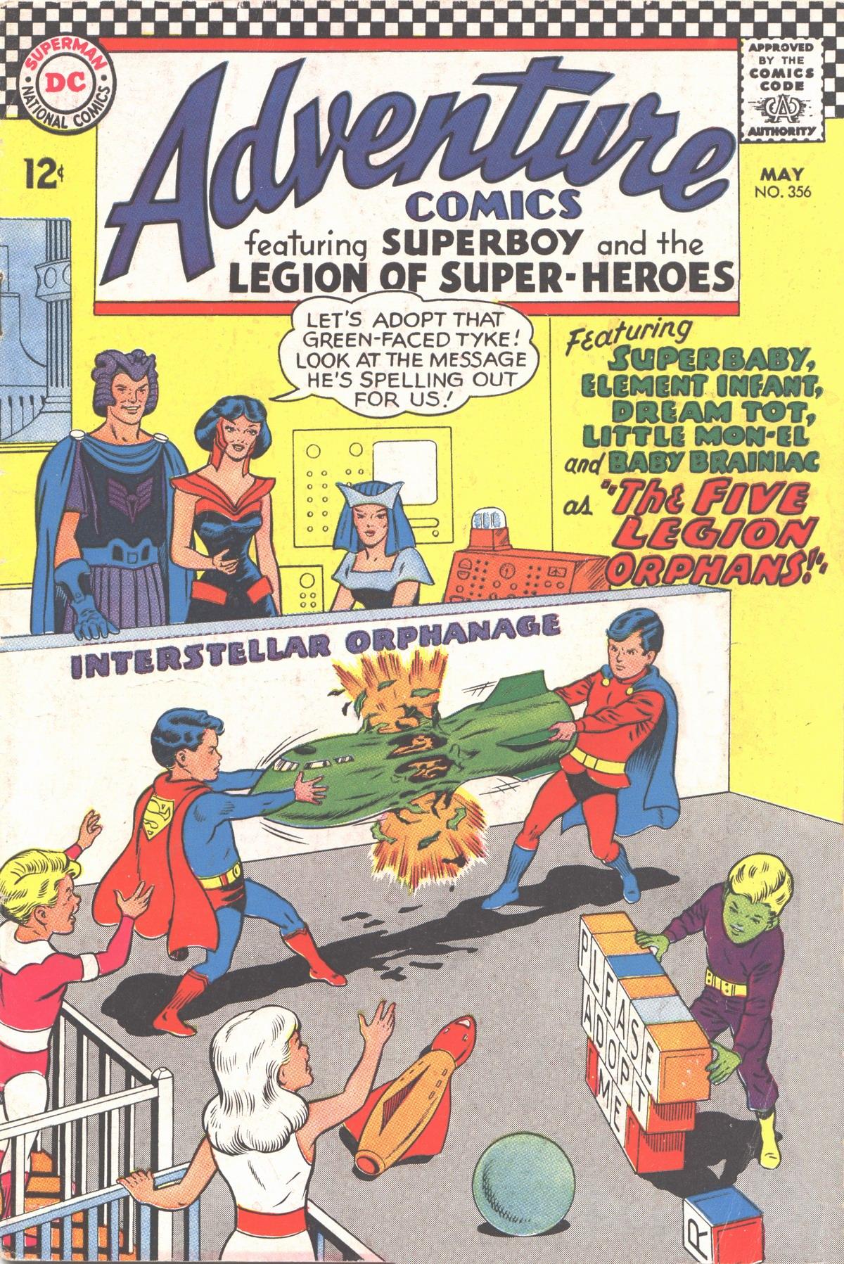 Read online Adventure Comics (1938) comic -  Issue #356 - 1
