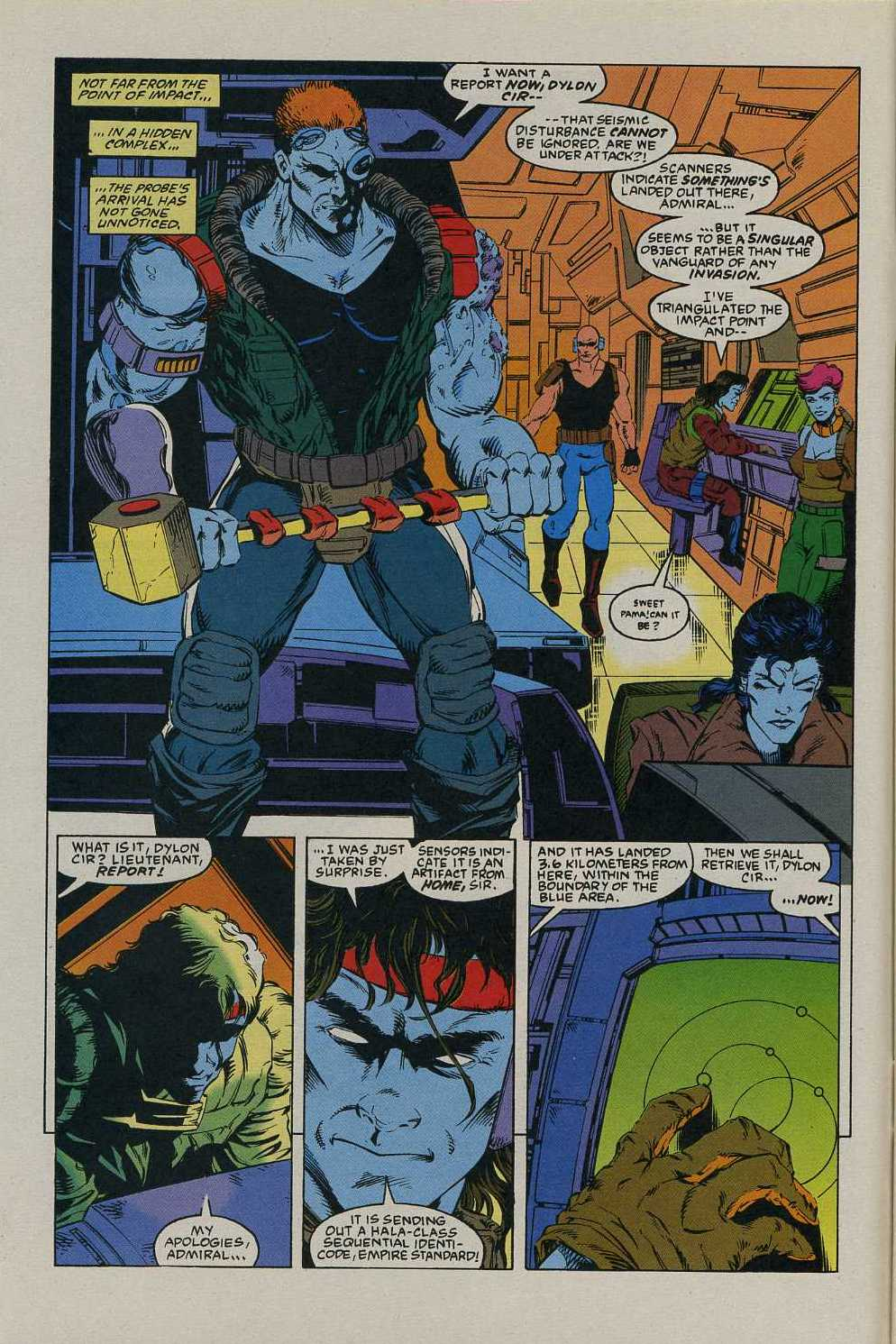Read online Avengers Strike File comic -  Issue # Full - 3