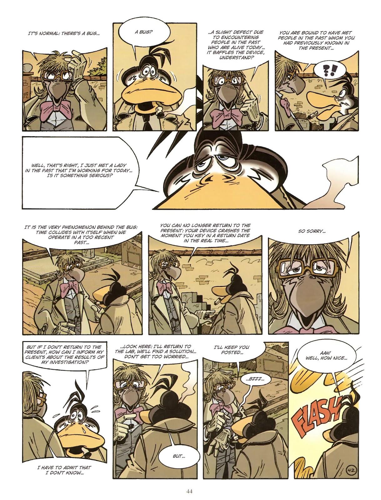 Une enquête de l'inspecteur Canardo issue 11 - Page 45