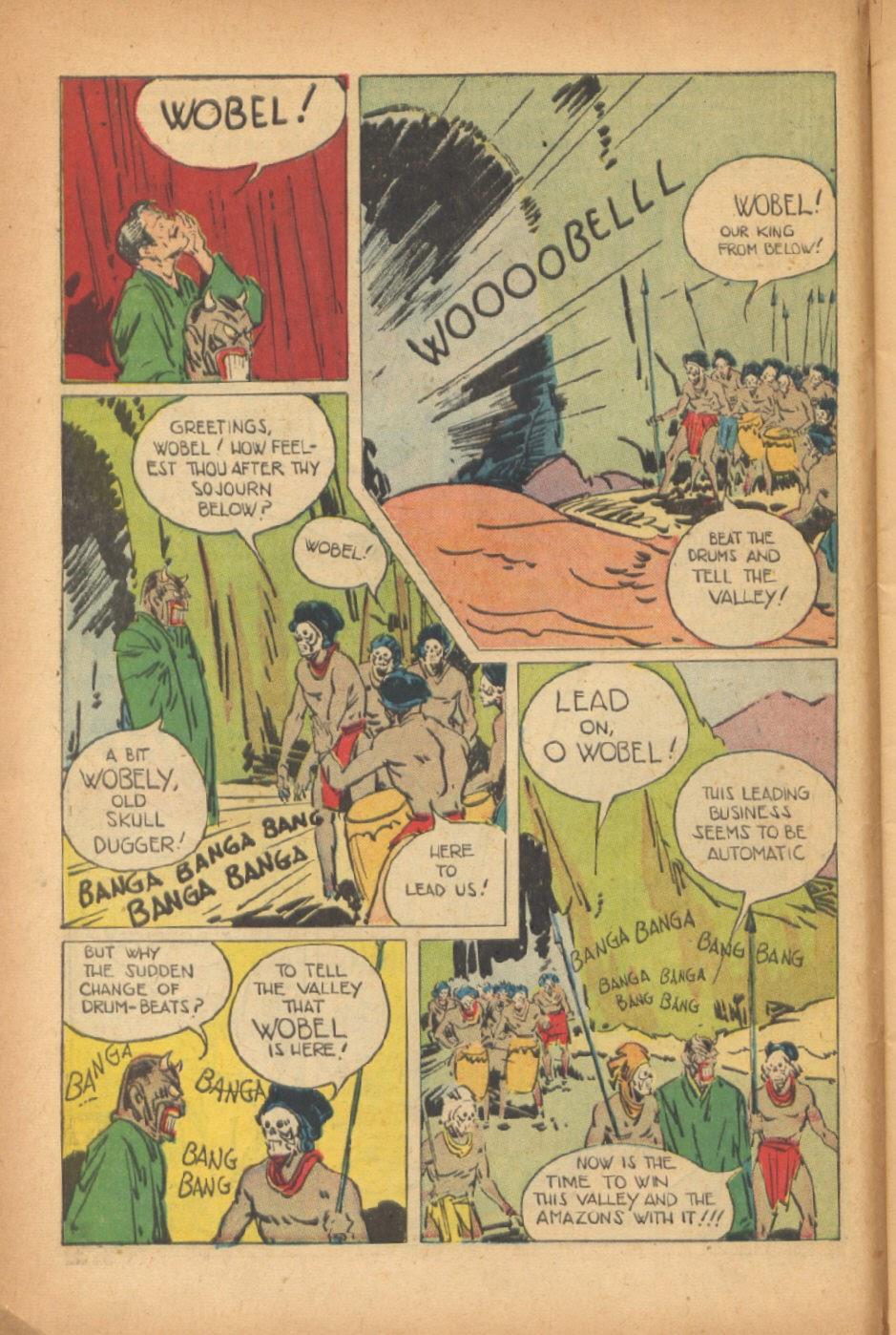 Read online Super-Magician Comics comic -  Issue #47 - 10