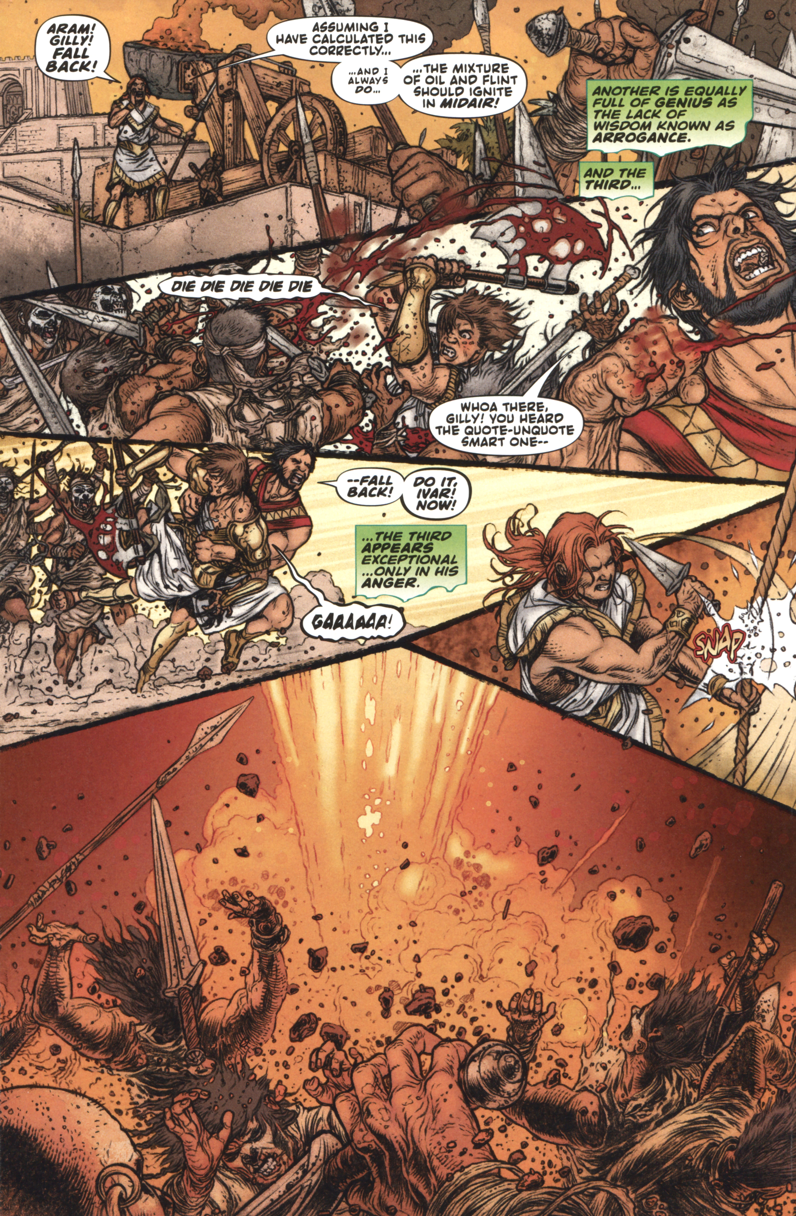 Read online Book of Death: Legends of the Geomancer comic -  Issue #4 - 8