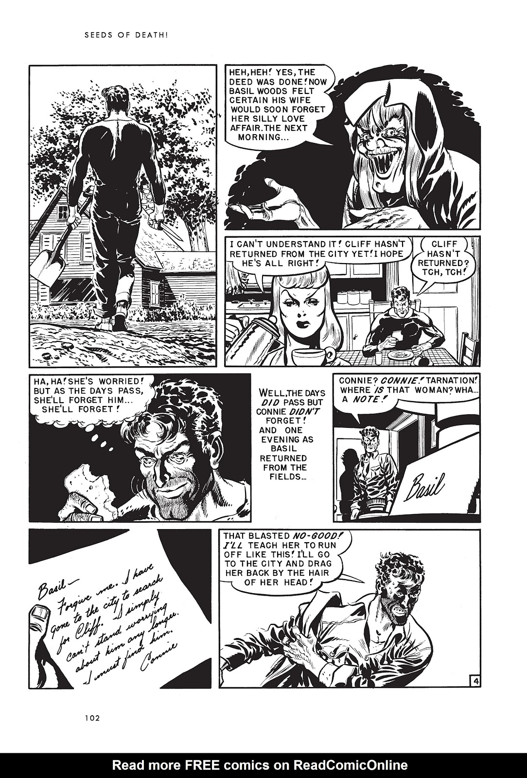 Read online Voodoo Vengeance and Other Stories comic -  Issue # TPB (Part 2) - 20