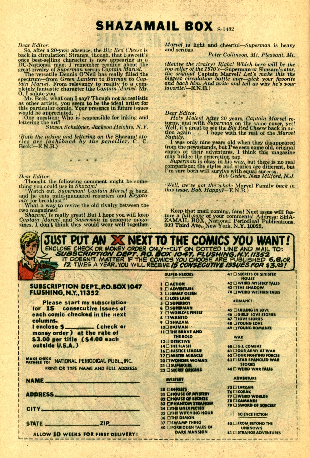Read online Shazam! (1973) comic -  Issue #3 - 26