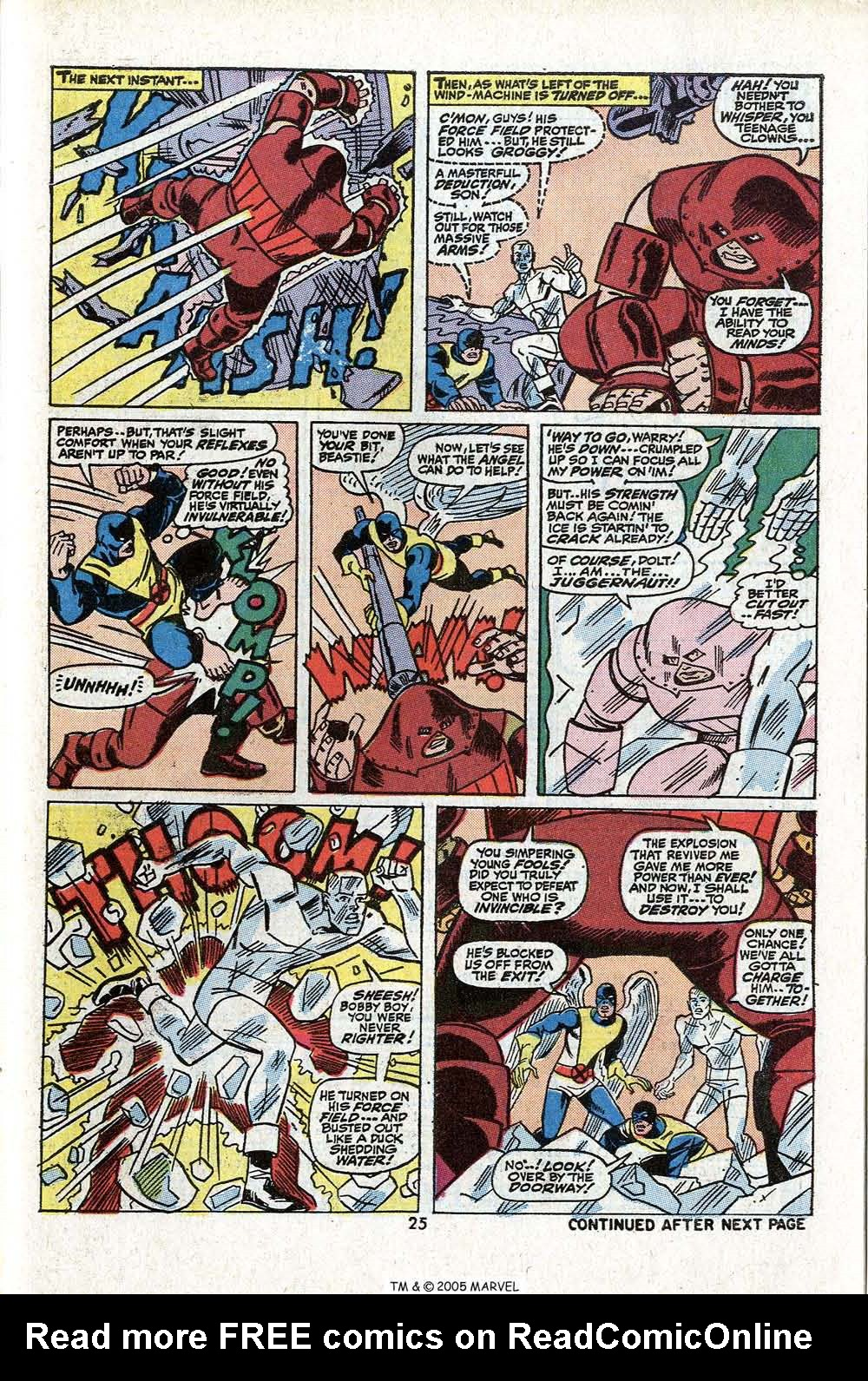 Read online Uncanny X-Men (1963) comic -  Issue #81 - 27