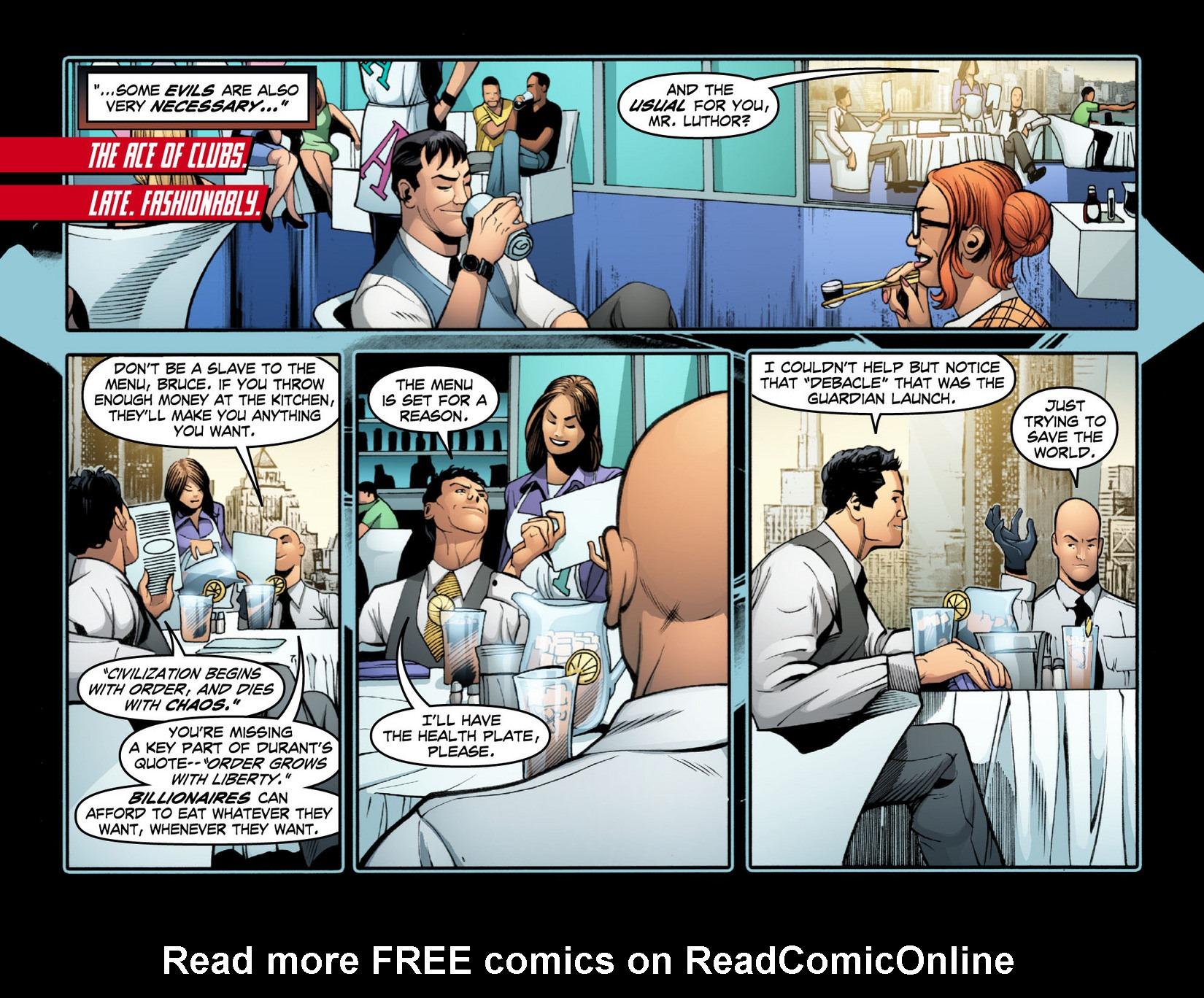 Read online Smallville: Season 11 comic -  Issue #15 - 8