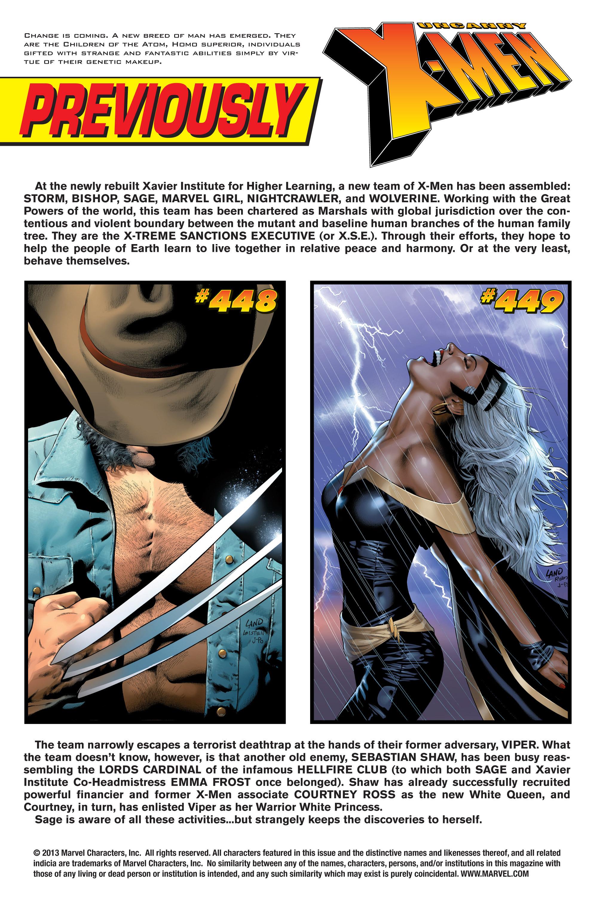 Read online Uncanny X-Men (1963) comic -  Issue #450 - 2