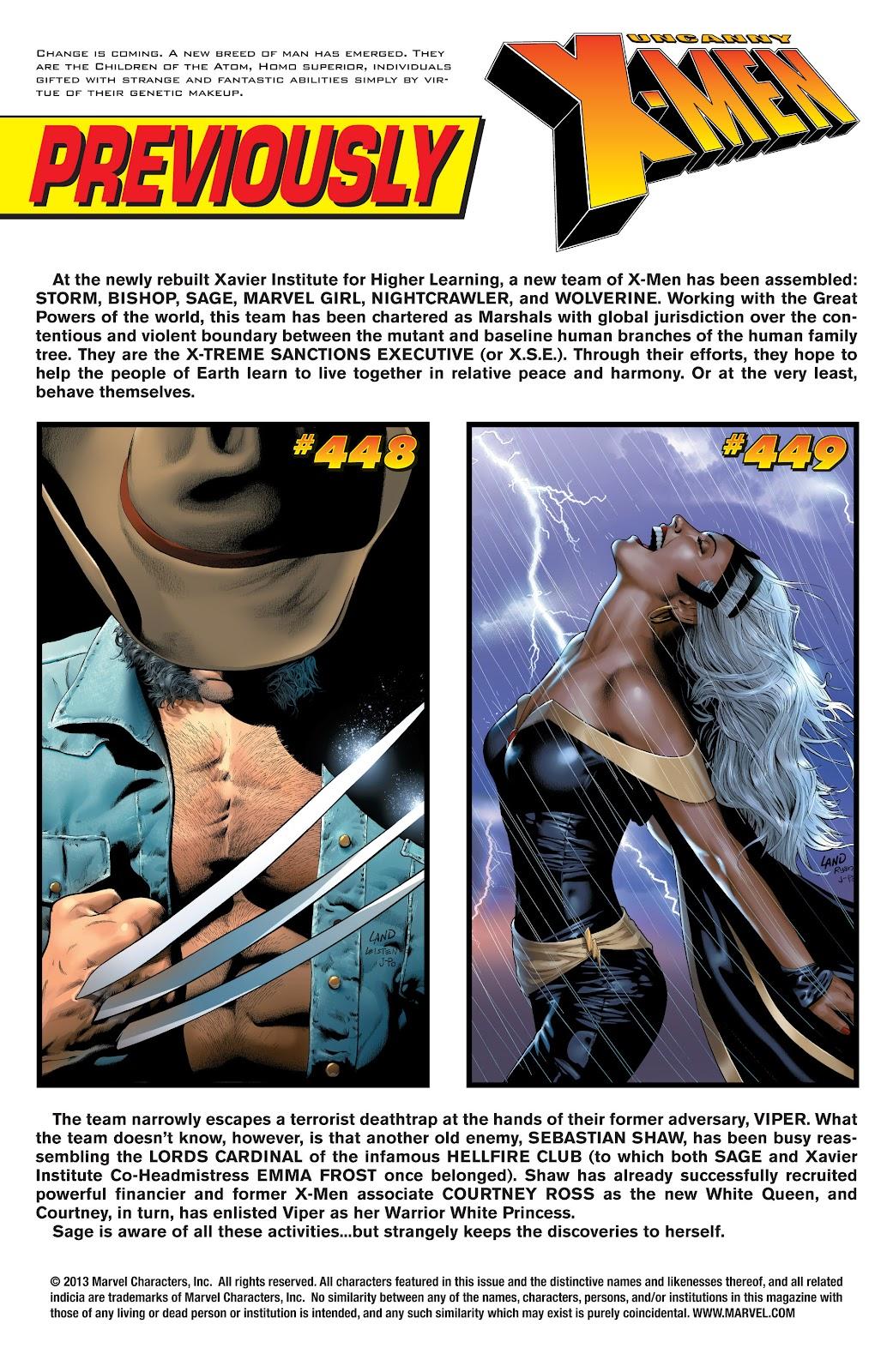 Uncanny X-Men (1963) issue 450 - Page 2