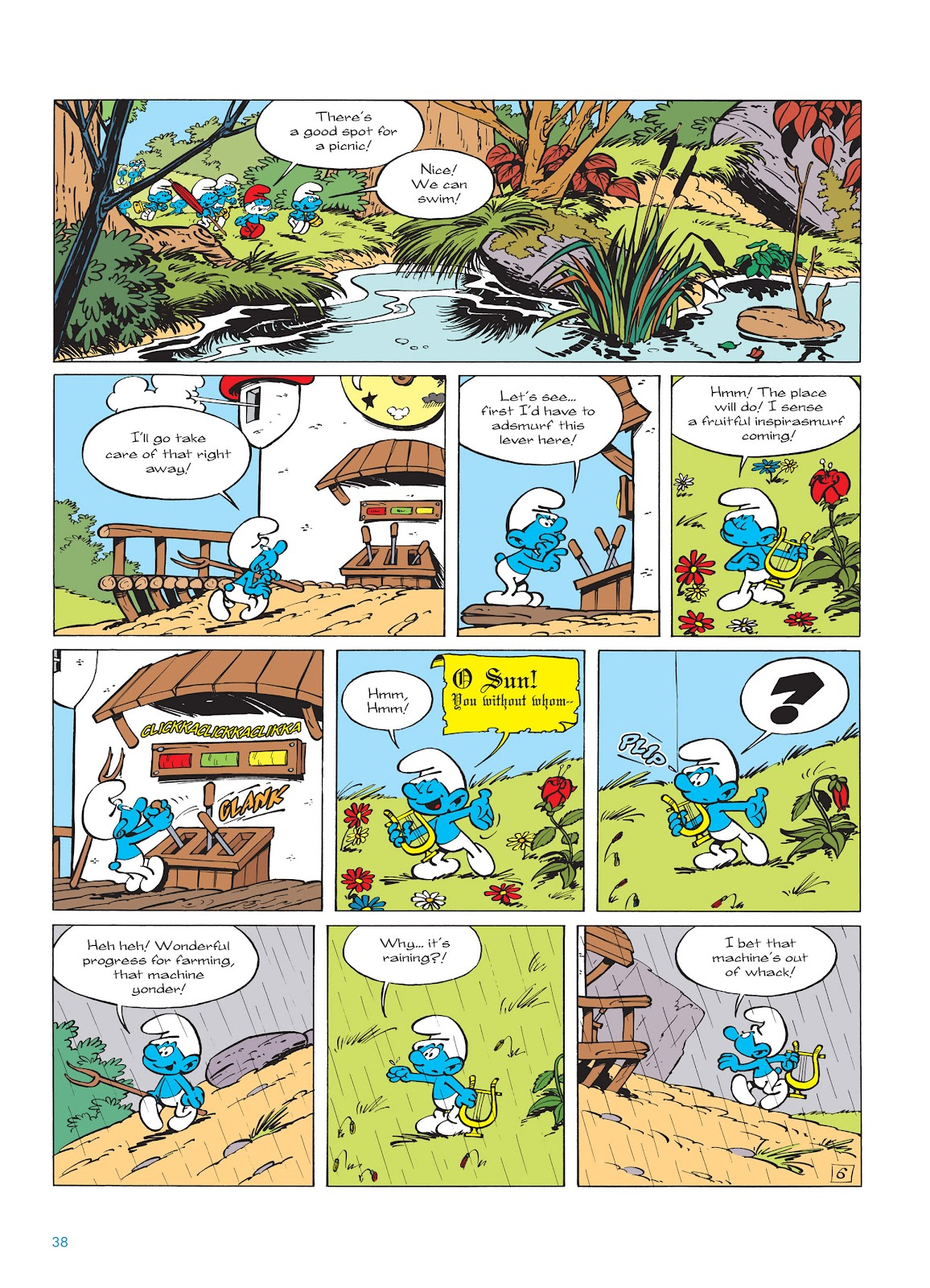Read online The Smurfs comic -  Issue #14 - 39