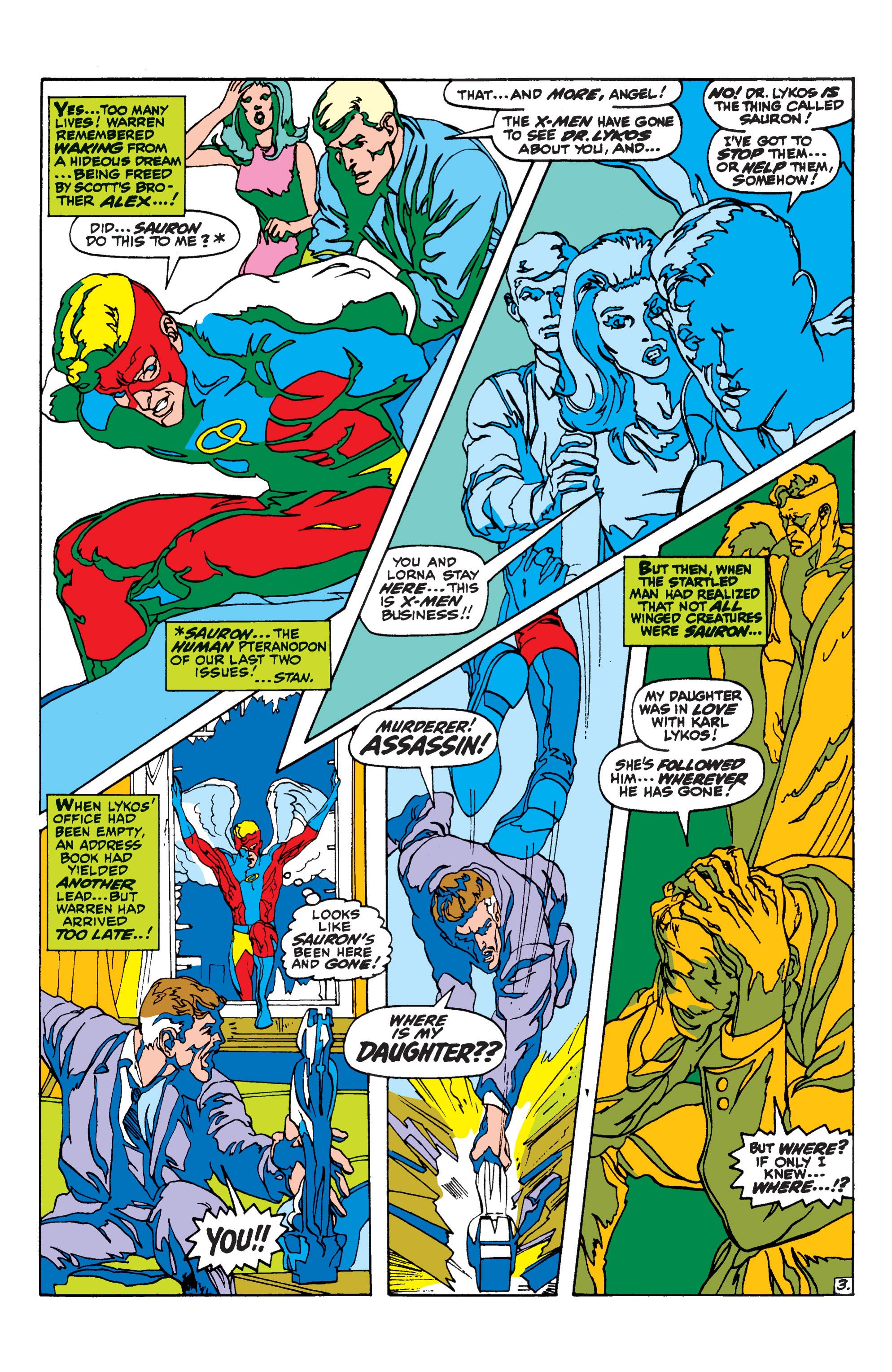 Uncanny X-Men (1963) 62 Page 3
