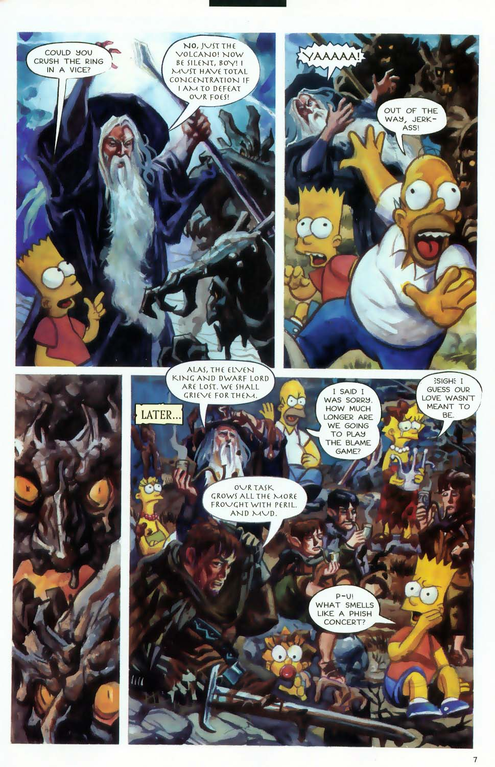 Read online Treehouse of Horror comic -  Issue #9 - 9