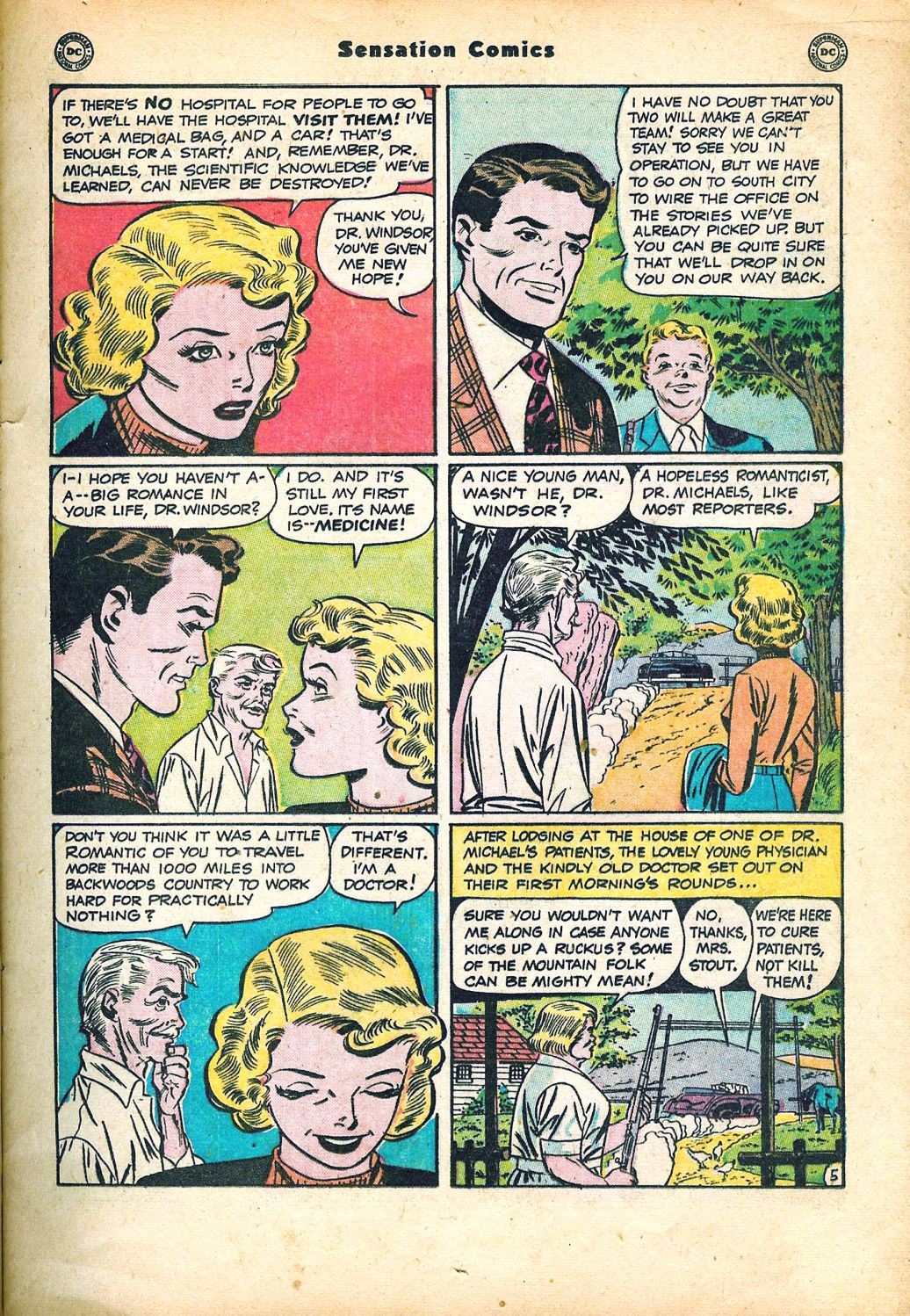 Read online Sensation (Mystery) Comics comic -  Issue #95 - 19