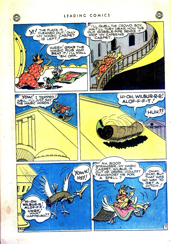 Comic Leading Comics issue 17
