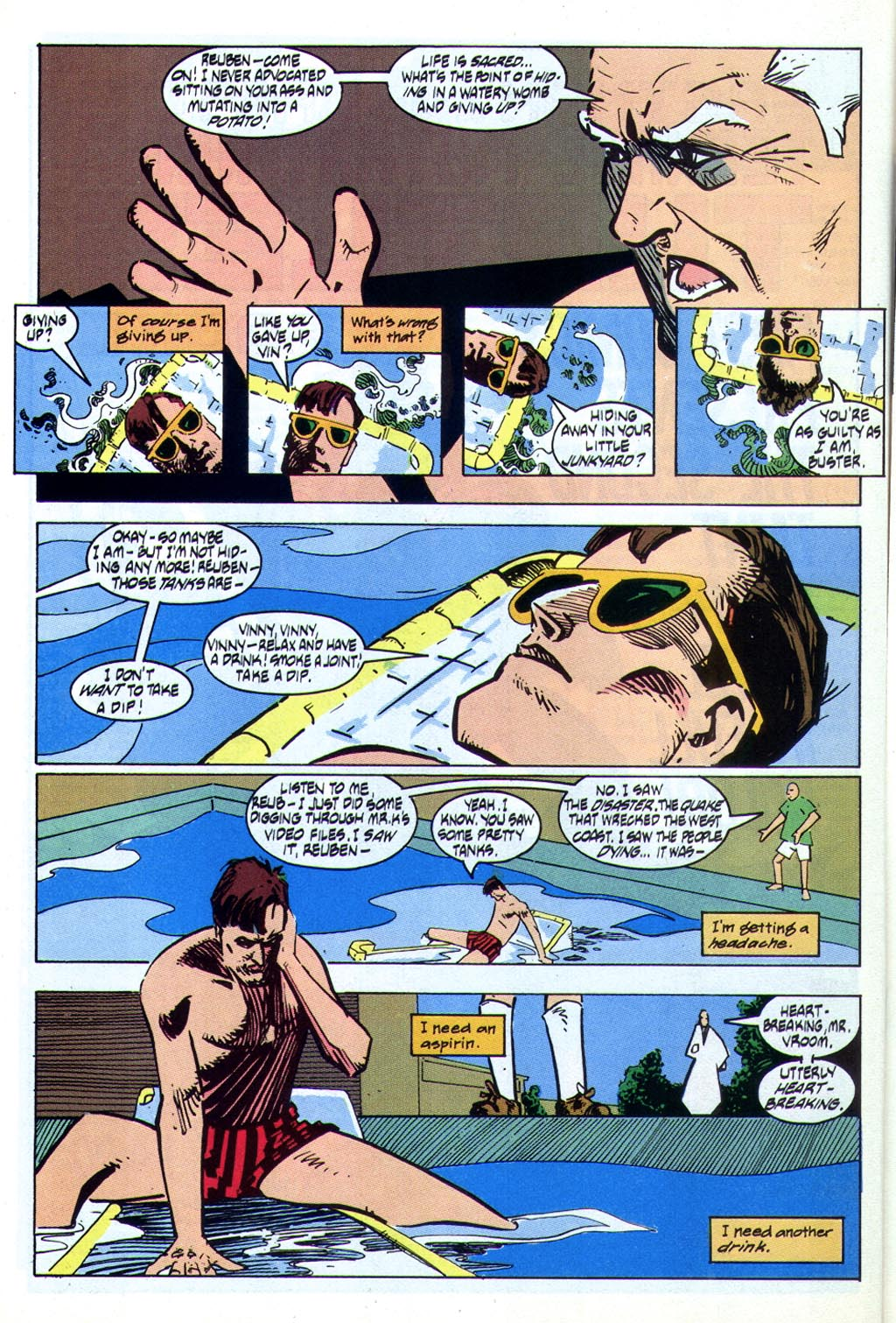 Read online American Flagg! comic -  Issue #44 - 16