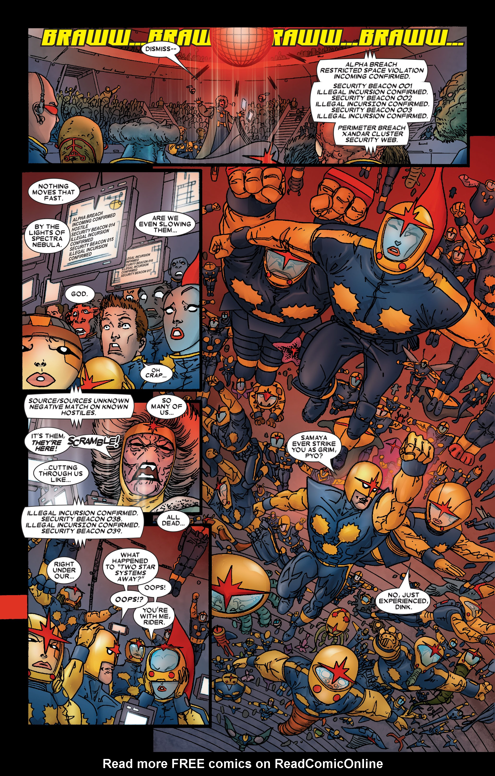 Read online Annihilation: Prologue comic -  Issue #Annihilation: Prologue Full - 18