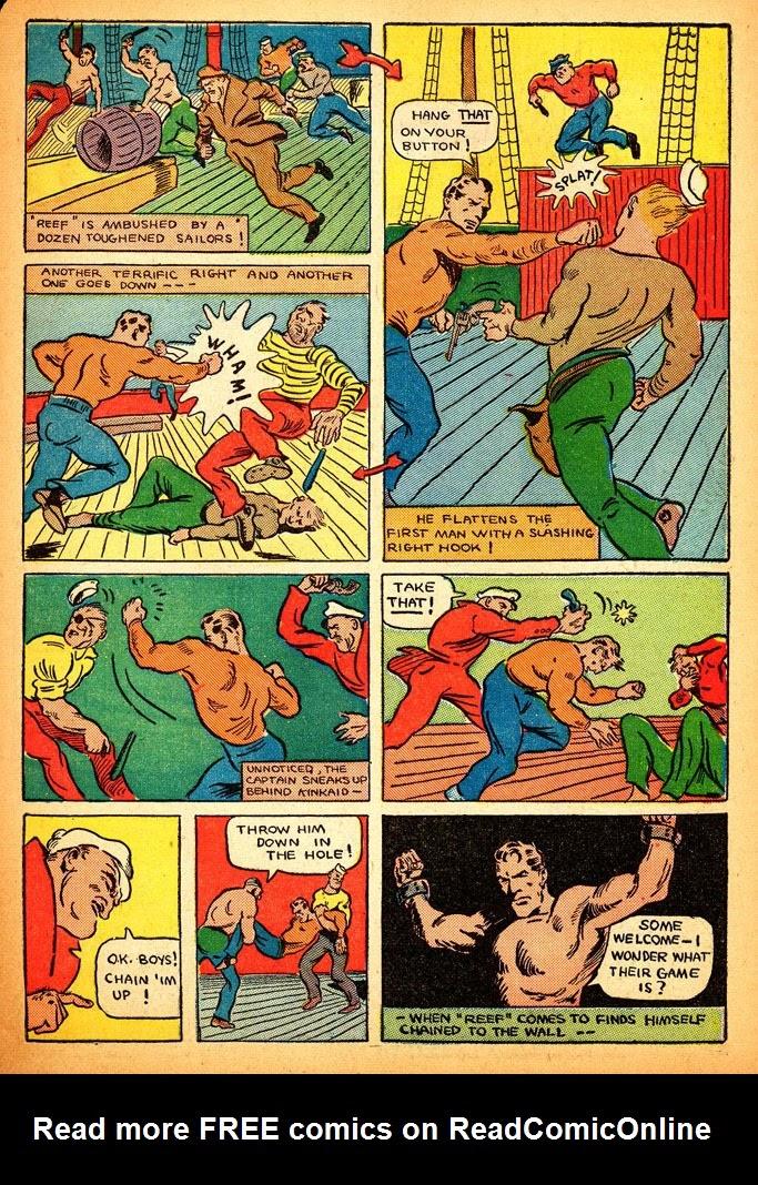 Read online Amazing Man Comics comic -  Issue #12 - 55