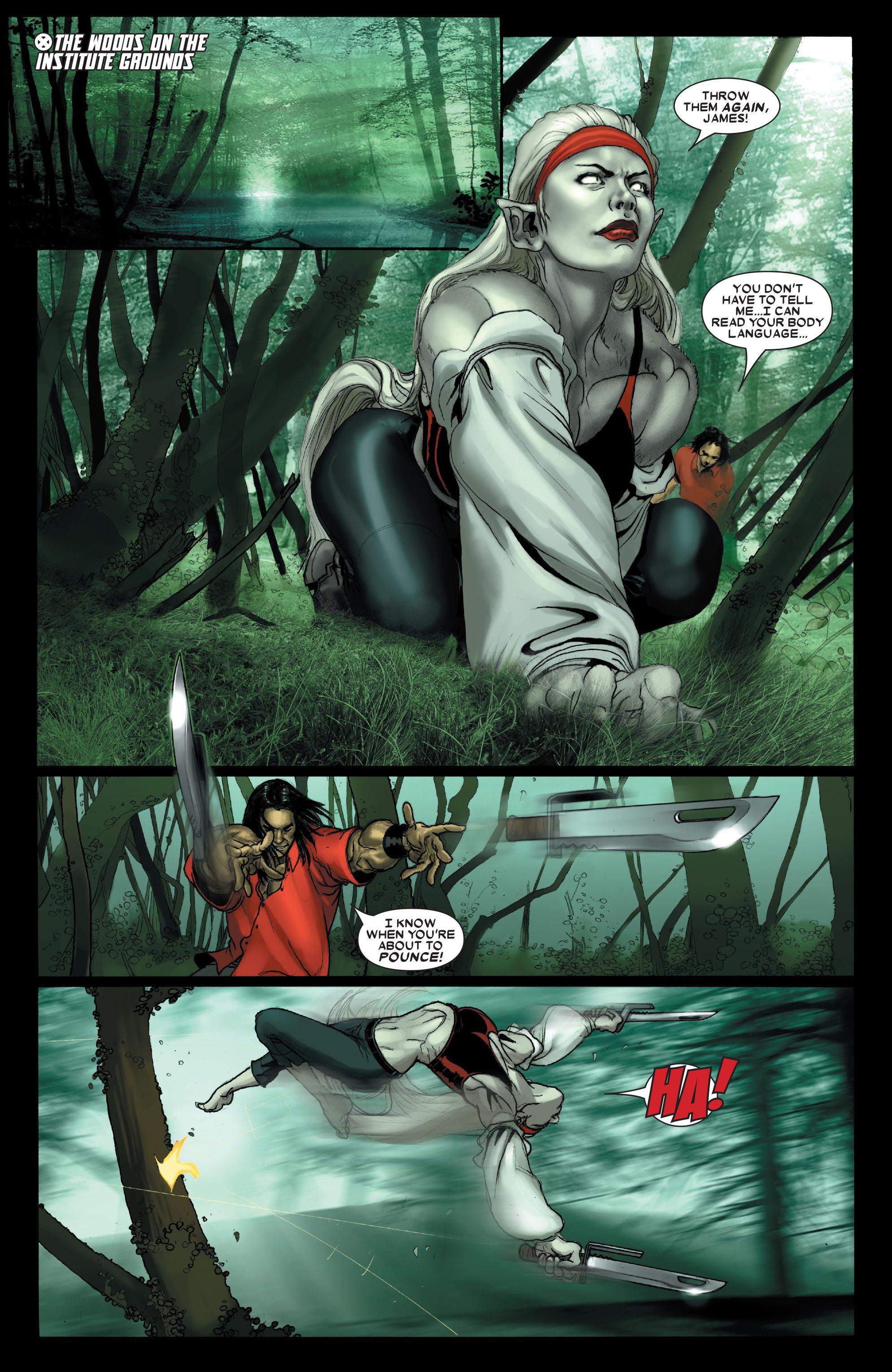 Read online Uncanny X-Men (1963) comic -  Issue #487 - 11