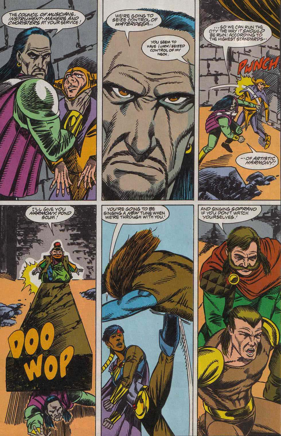 Read online Advanced Dungeons & Dragons comic -  Issue #7 - 17