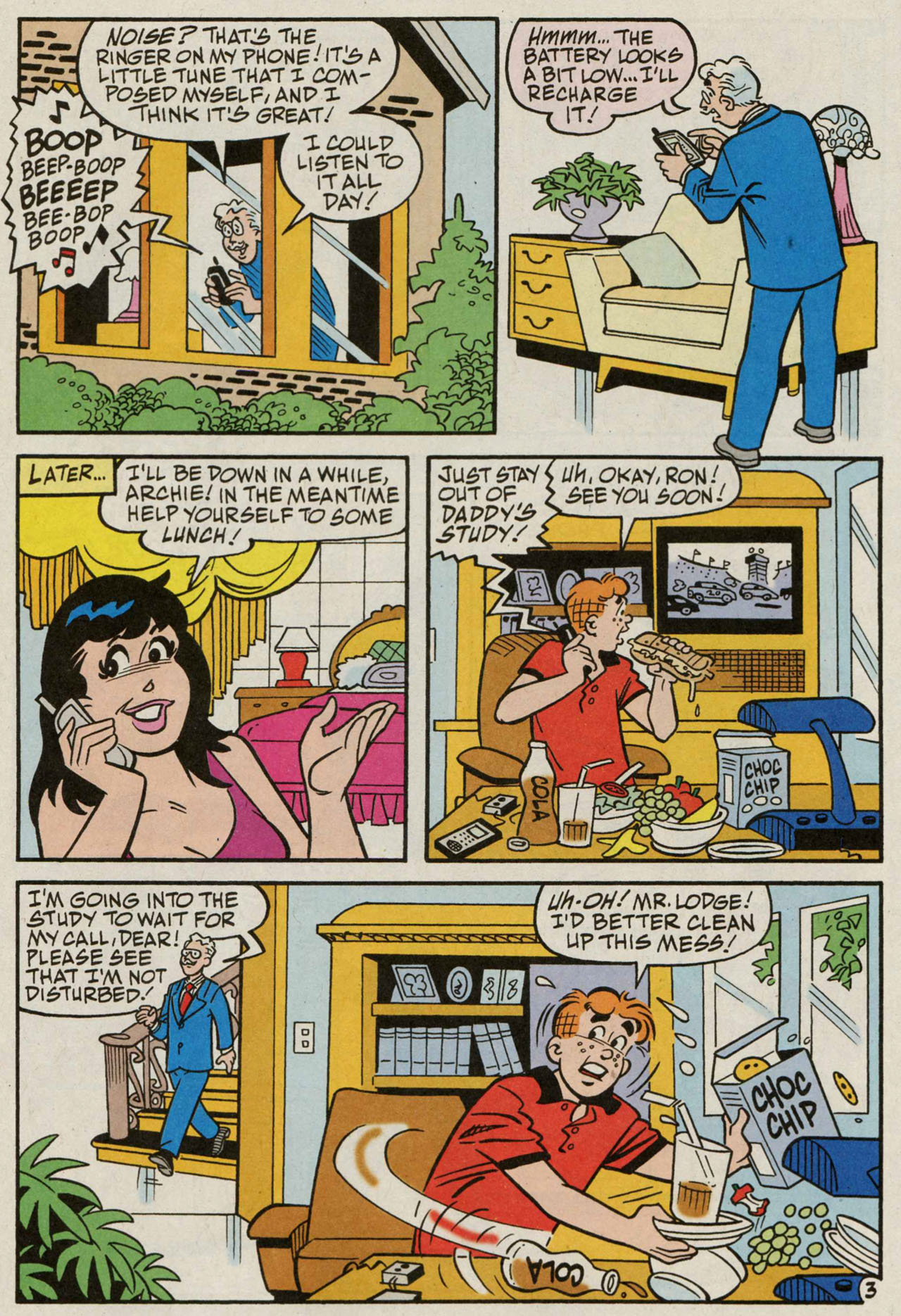 Read online Archie (1960) comic -  Issue #584 - 4
