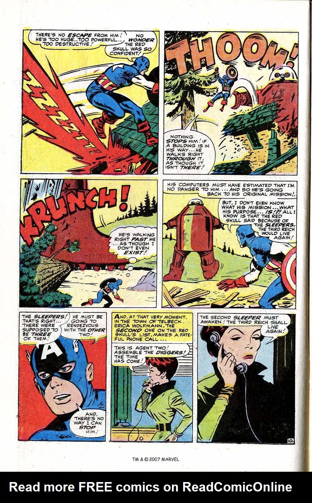 Read online Captain America (1968) comic -  Issue # _Annual 2 - 14