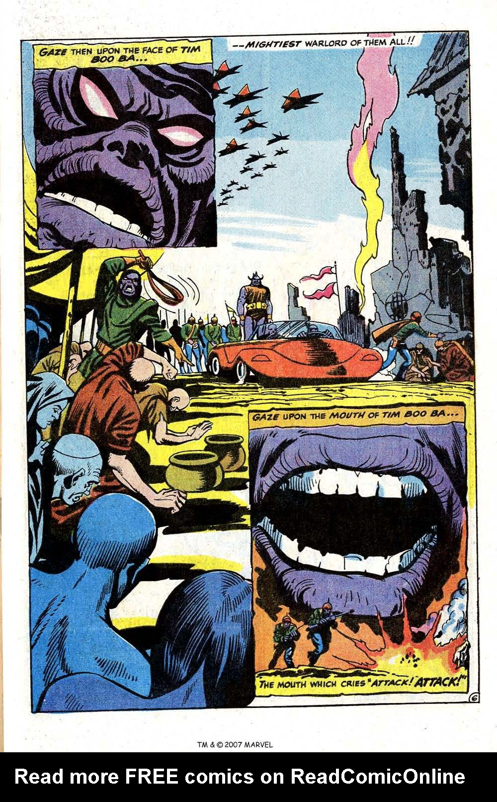 Read online Silver Surfer (1968) comic -  Issue #4 - 57