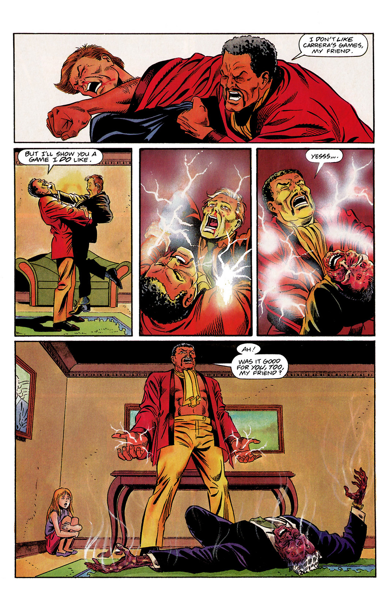 Read online Shadowman (1992) comic -  Issue #3 - 10