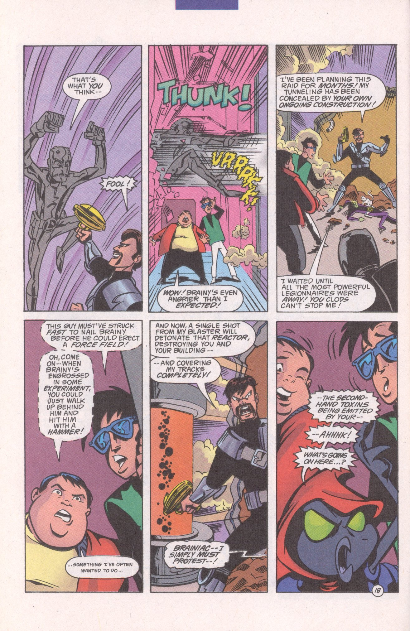 Read online Adventures in the DC Universe comic -  Issue #10 - 20
