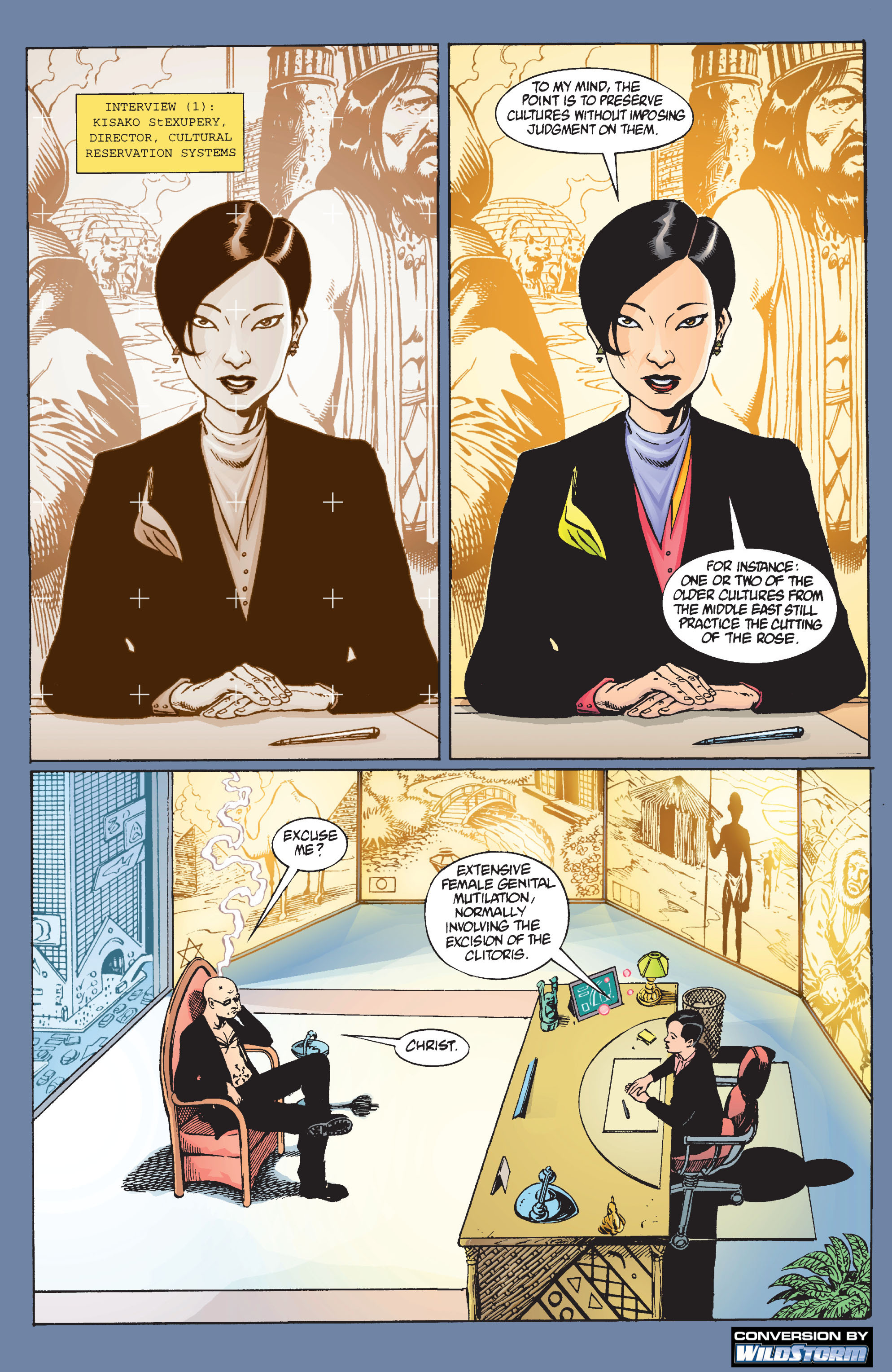 Read online Transmetropolitan comic -  Issue #9 - 3