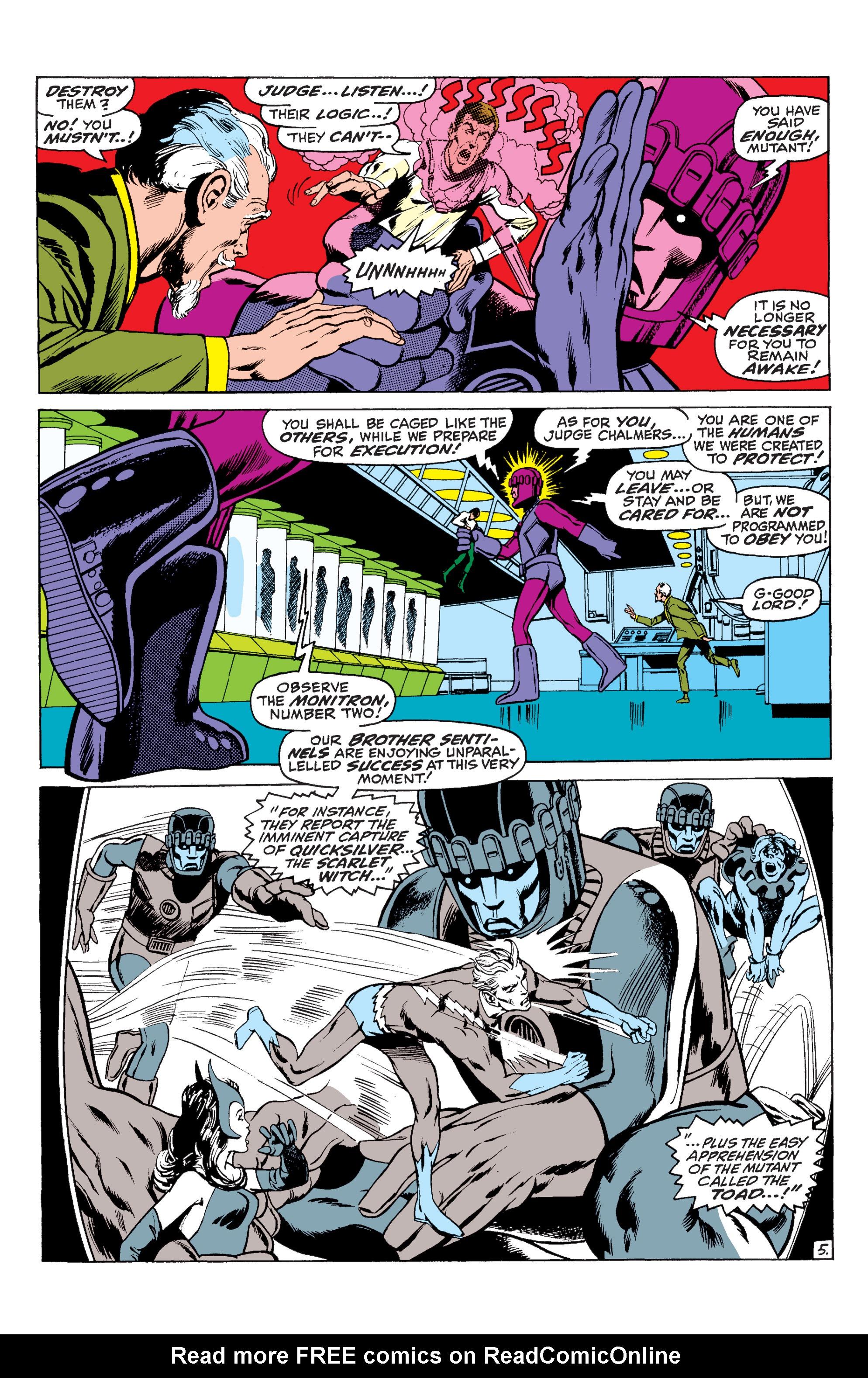Read online Uncanny X-Men (1963) comic -  Issue #59 - 6