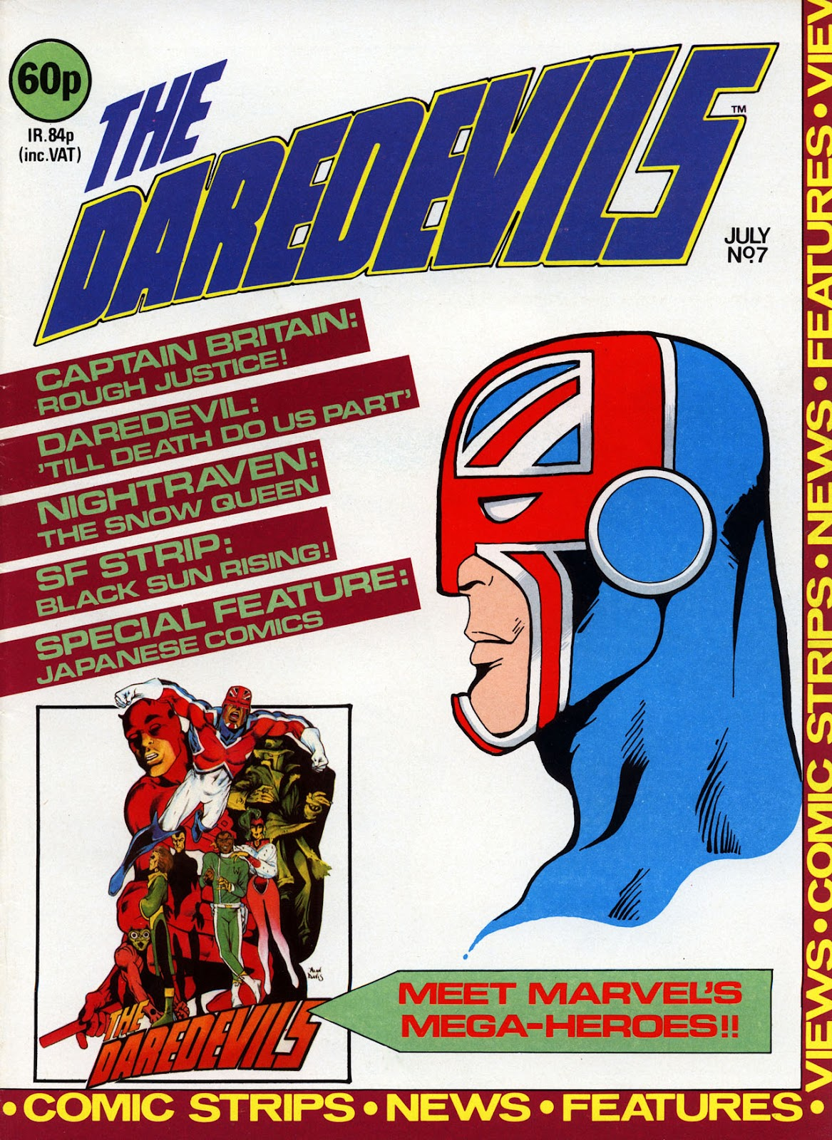 The Daredevils issue 7 - Page 1