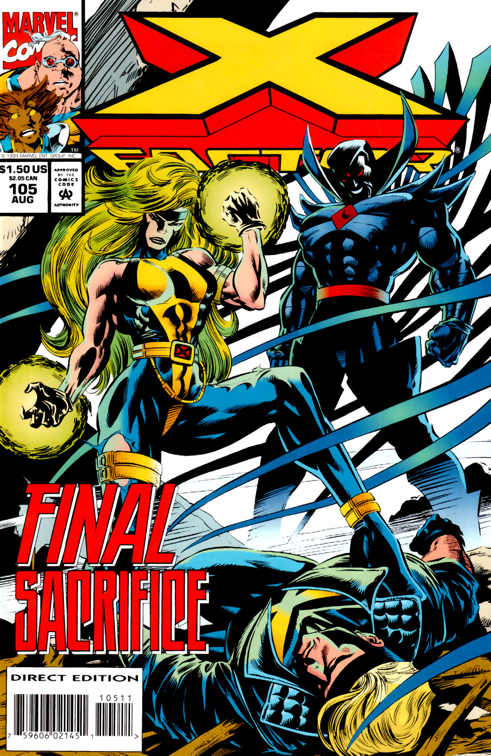 Read online X-Factor (1986) comic -  Issue #105 - 1