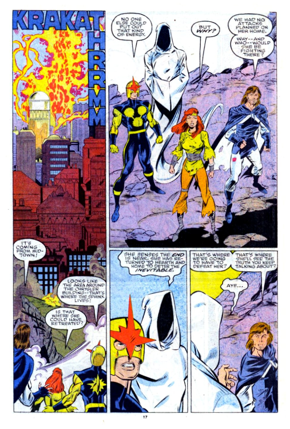 The New Warriors Issue #13 #17 - English 14