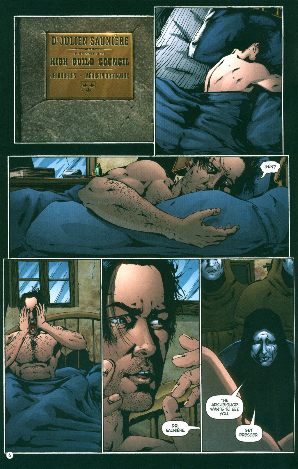 Read online Rex Mundi comic -  Issue #3 - 8