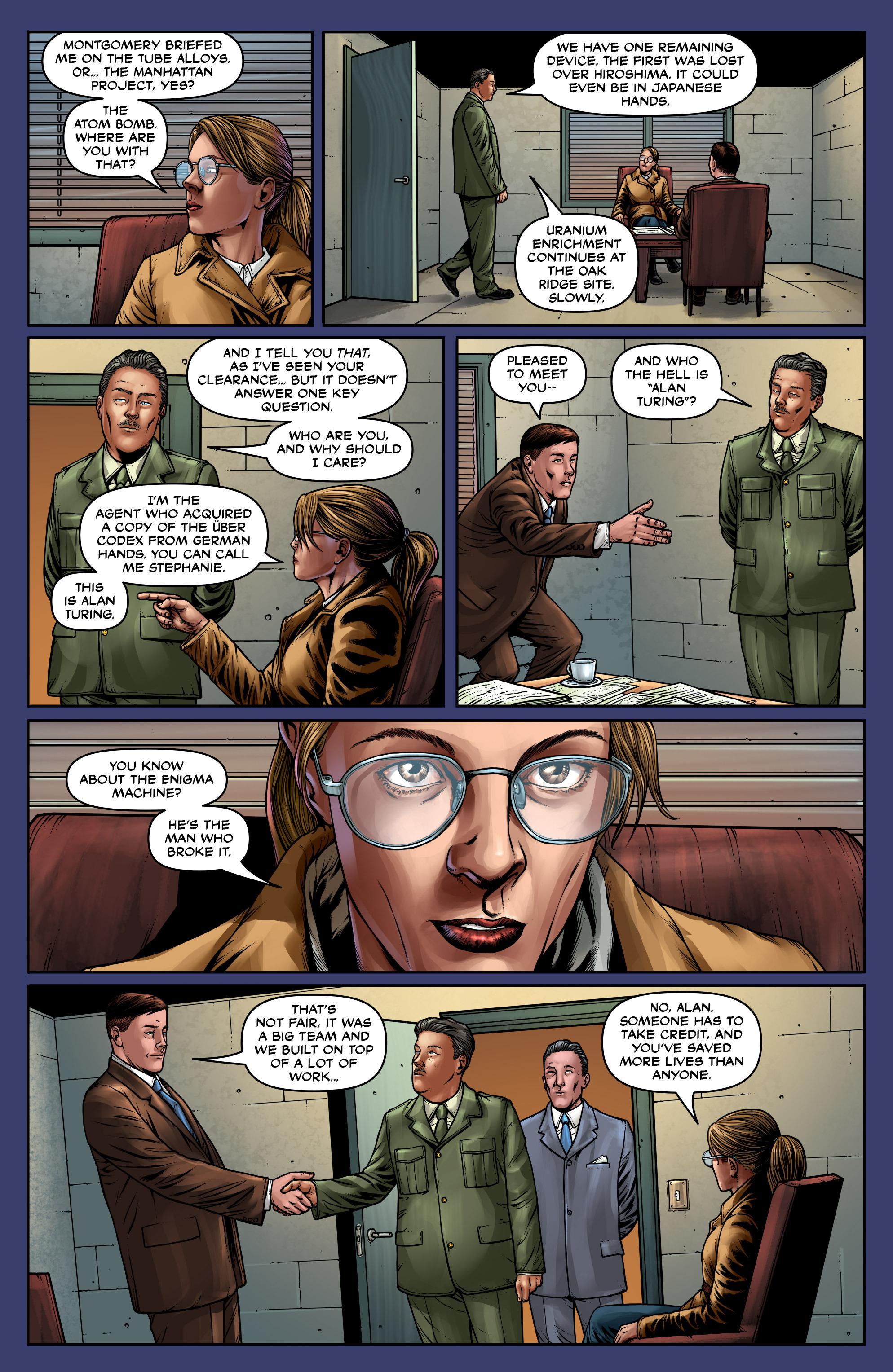 Read online Uber: Invasion comic -  Issue #5 - 6