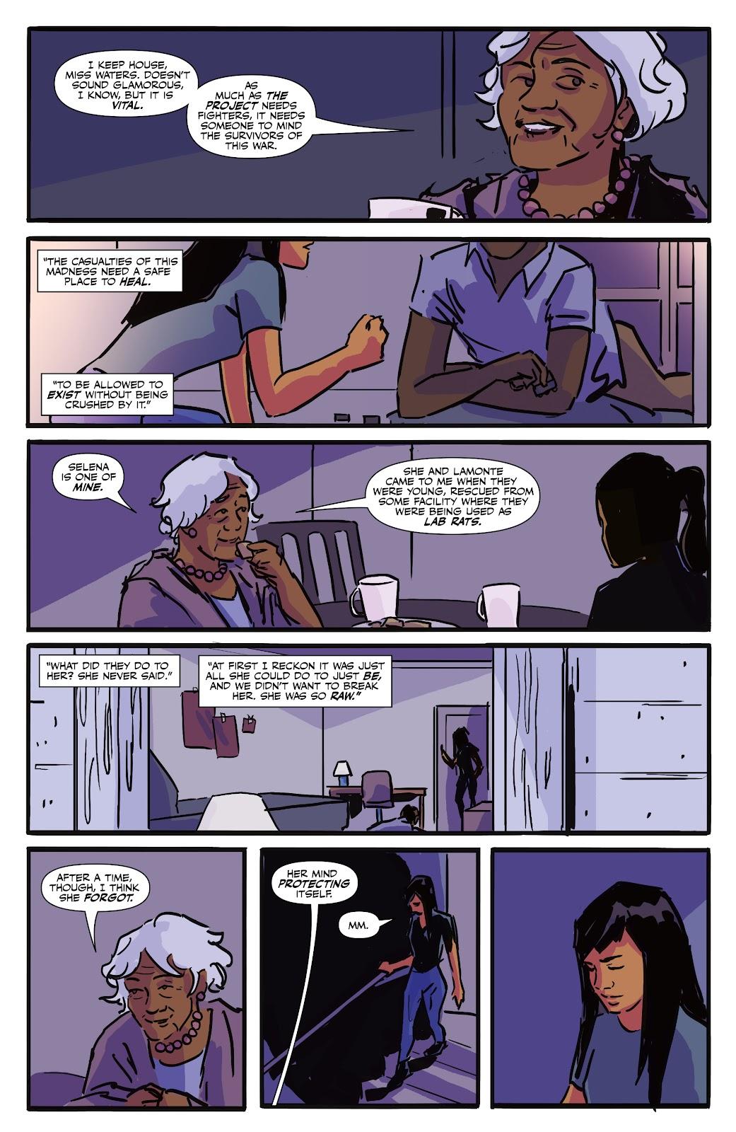 Read online Black (AF): Devil's Dye comic -  Issue #3 - 9