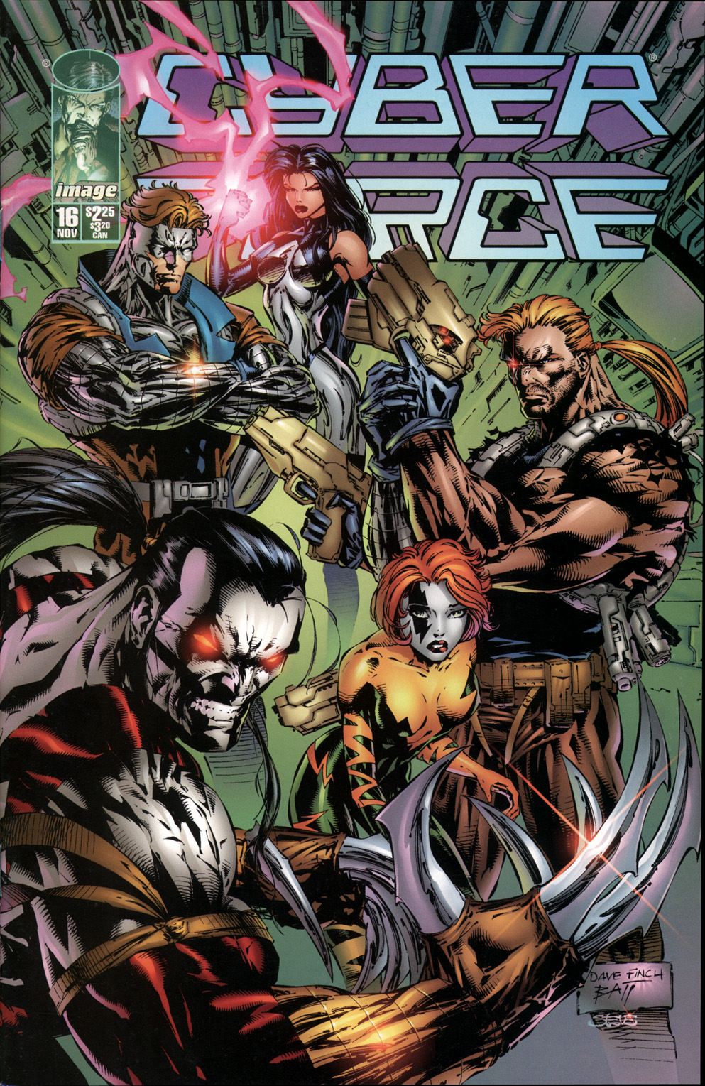 Cyberforce (1993) Issue #16 #16 - English 1