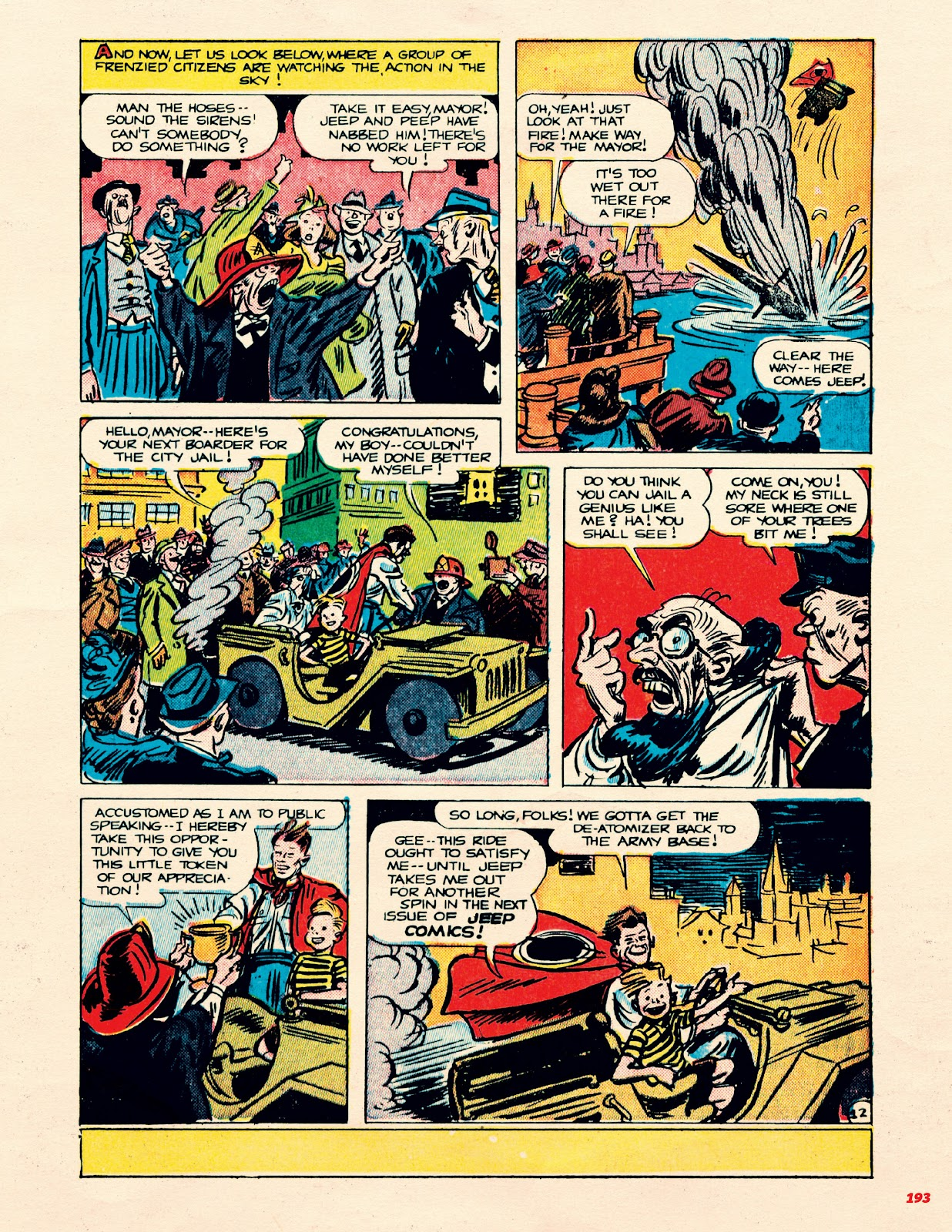 Read online Super Weird Heroes comic -  Issue # TPB 1 (Part 2) - 93