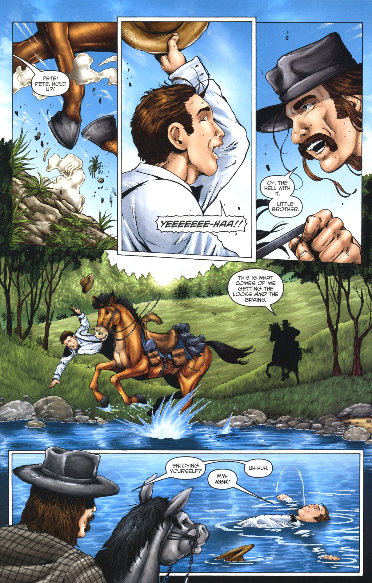 Read online Garth Ennis' Streets of Glory comic -  Issue #1 - 6
